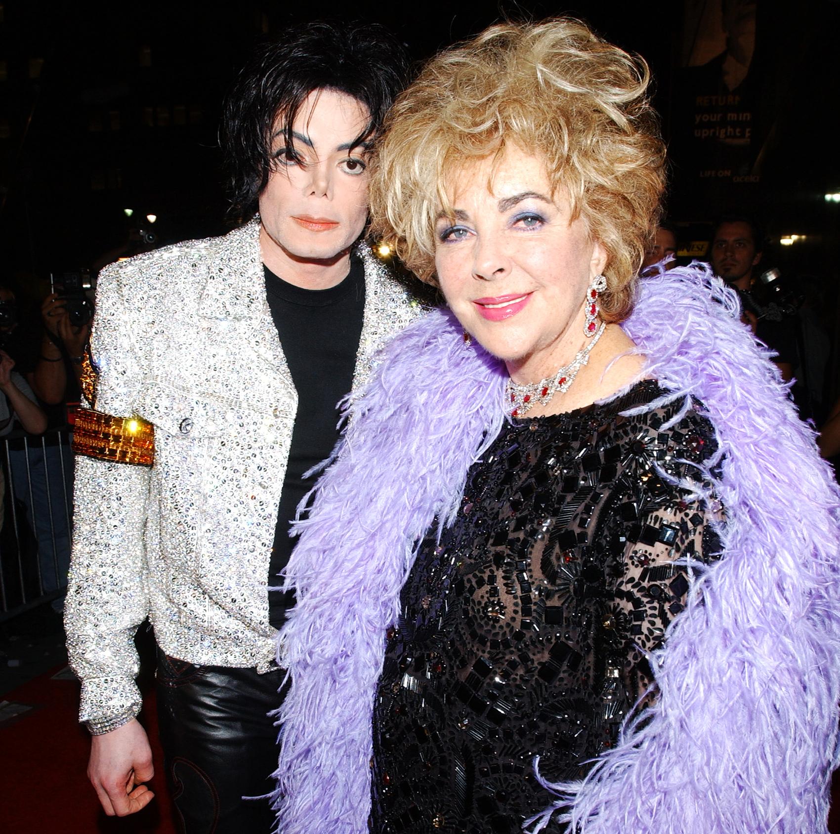 Michael Jackson and Elizabeth Taylor