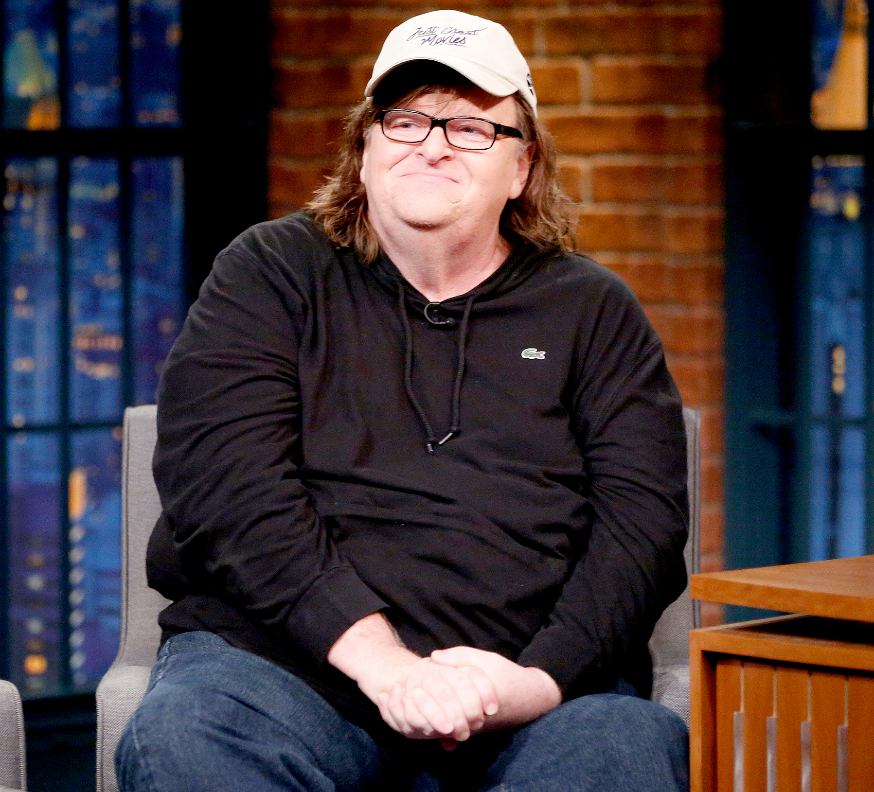 Michael Moore during an interview on Aug. 29, 2016.
