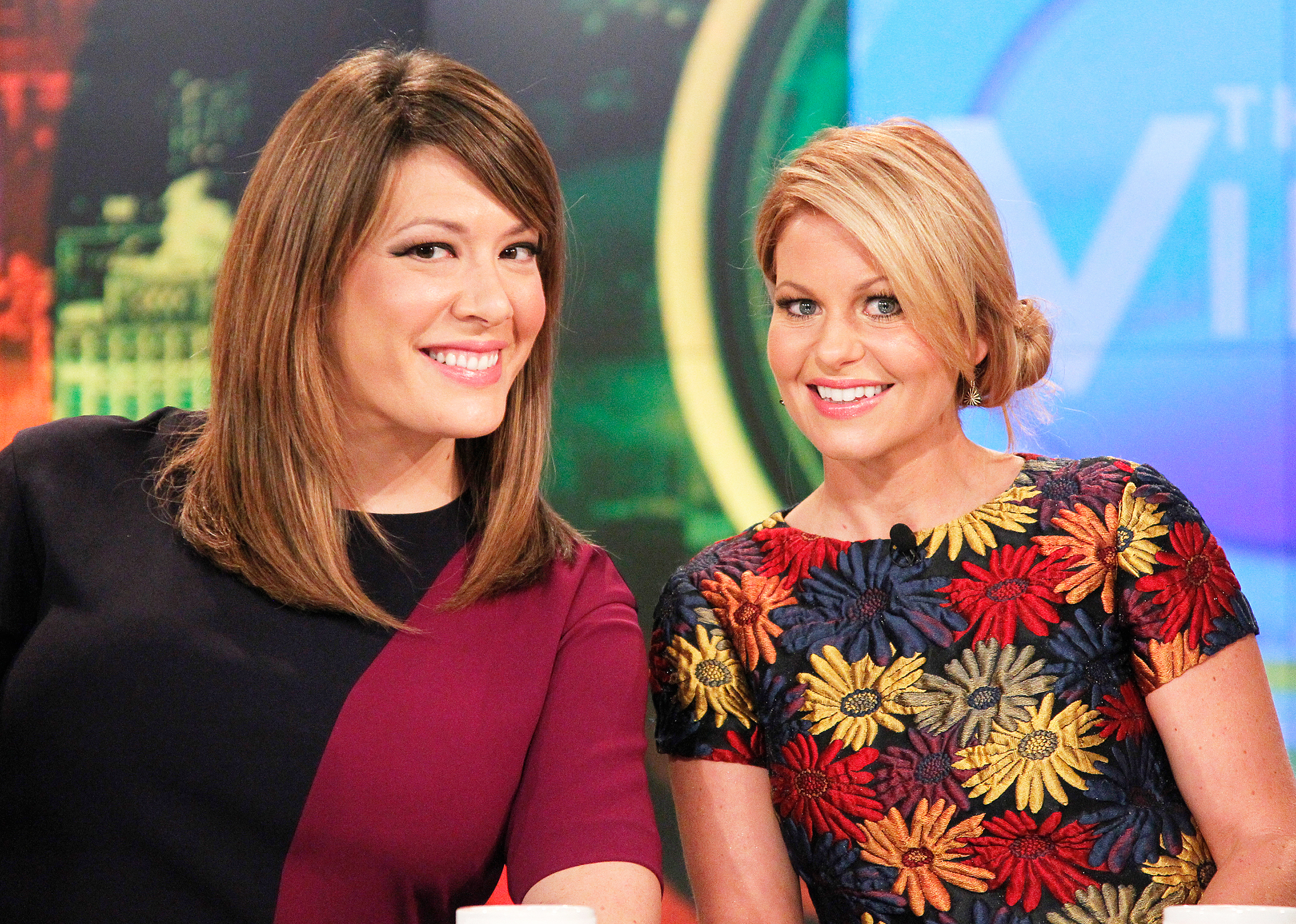 Michelle Collins and Candace Cameron Bure