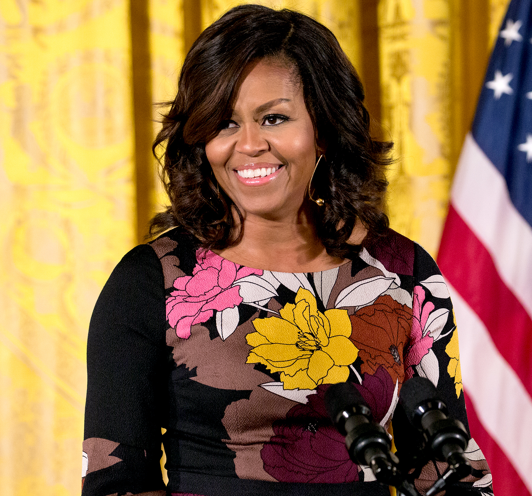 U.S. first lady Michelle Obama delivers opening remarks during the final Joining Forces event in the East Room of the White House, Nov. 14, 2016, in Washington, D.C. Obama hosted the event to celebrate the successes and share best practices so as to continue the work of the Mayors Challenge to End Veteran Homelessness.
