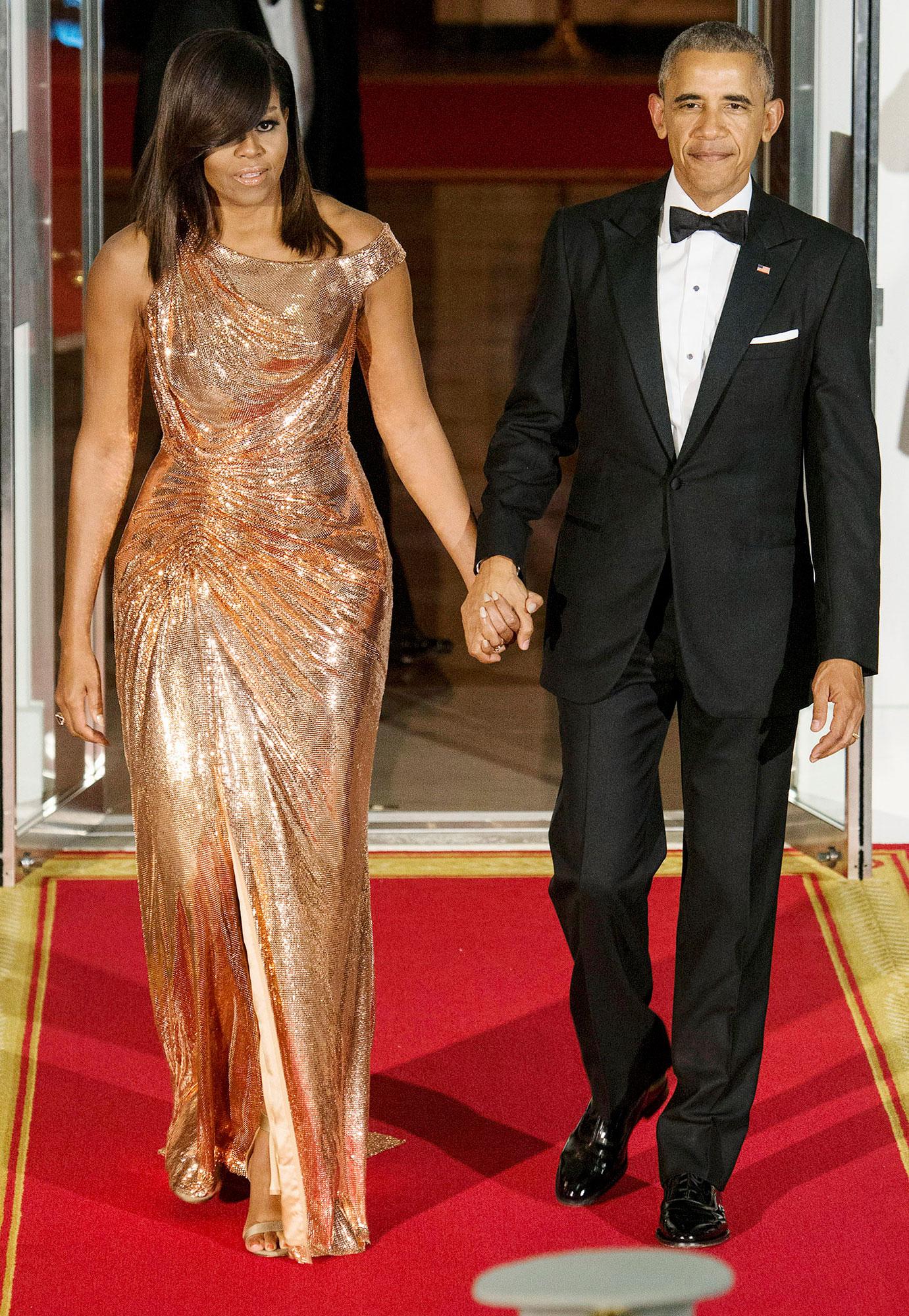 President Barack Obama First Lady Michelle Obama