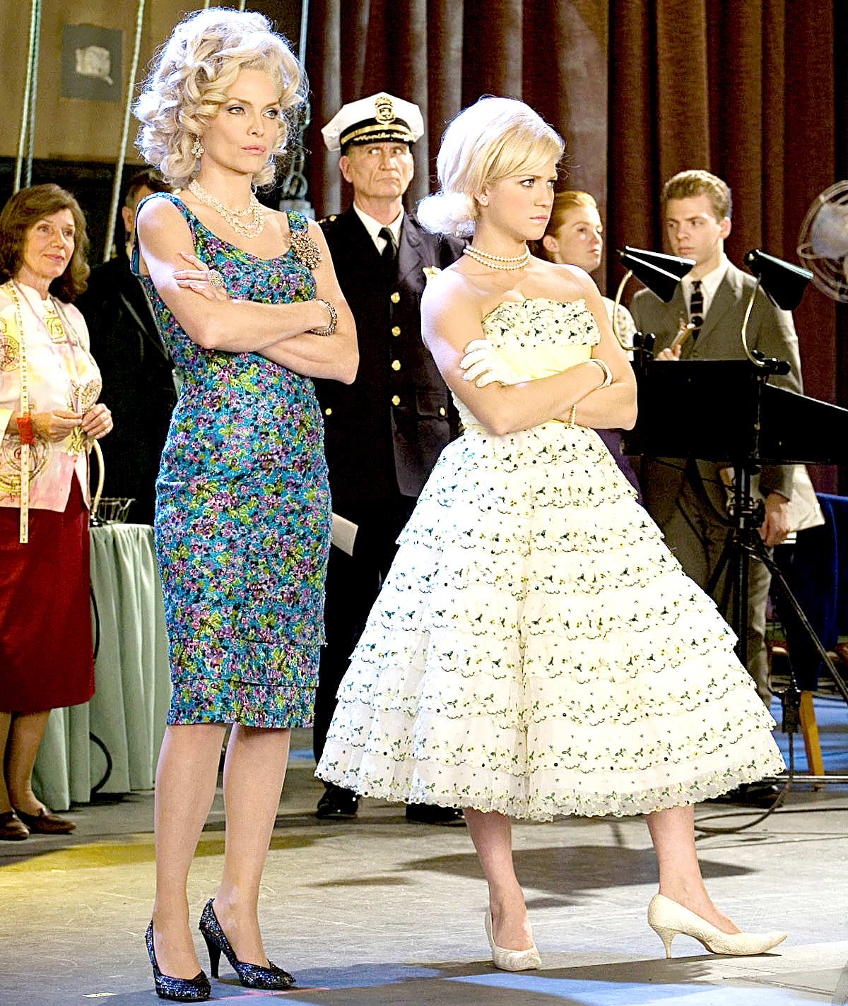 Michelle Pfeiffer and Brittany Snow in 2007's Hairspray.