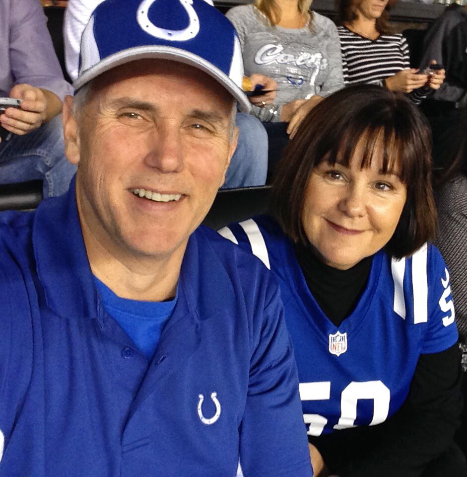 Mike Pence, Karen Pence, Indianapolis Colts, National Anthem, Kneel