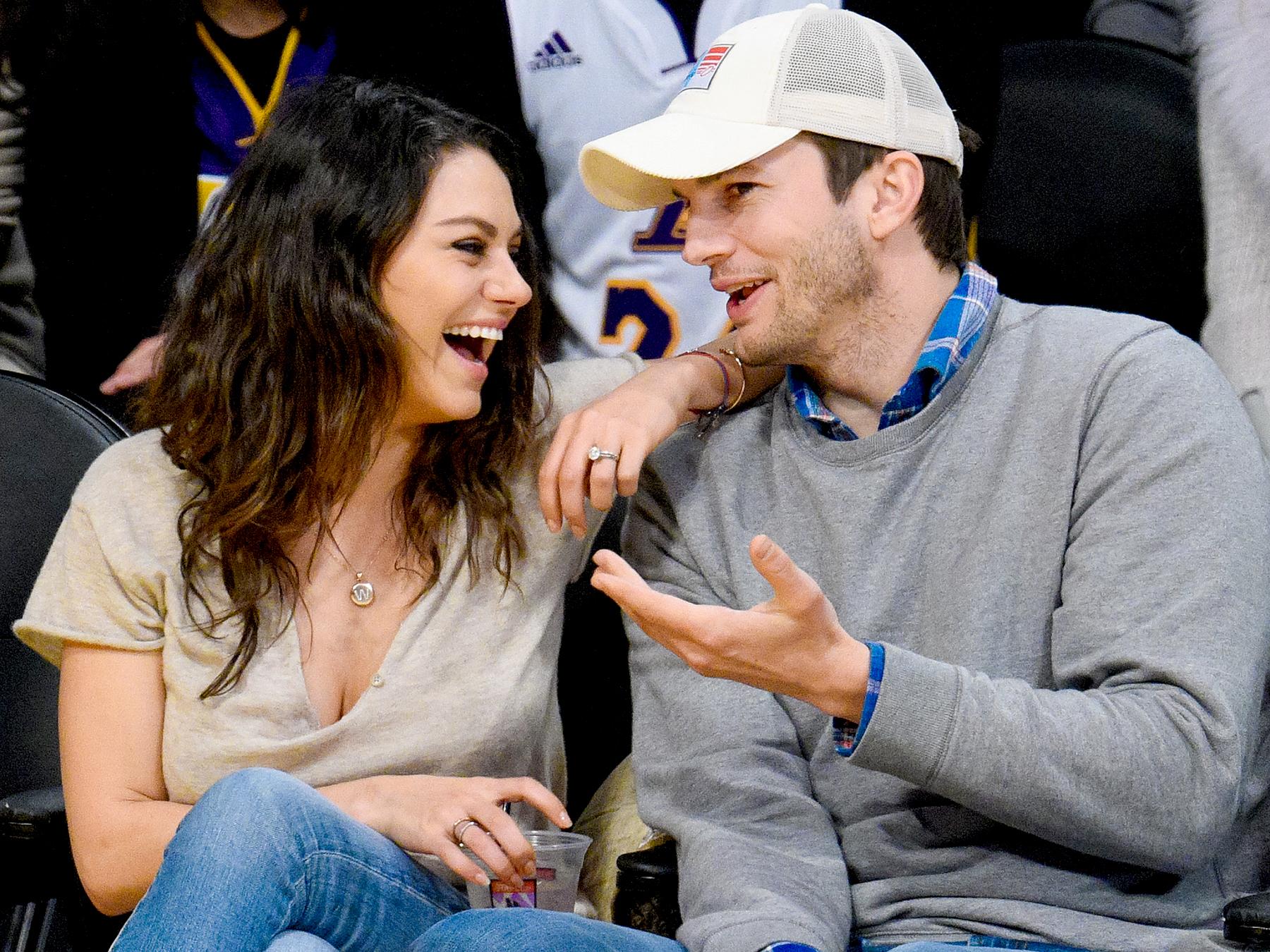 Mila Kunis Keeps Her Ashton Kutcher Engagement Ring Locked Away