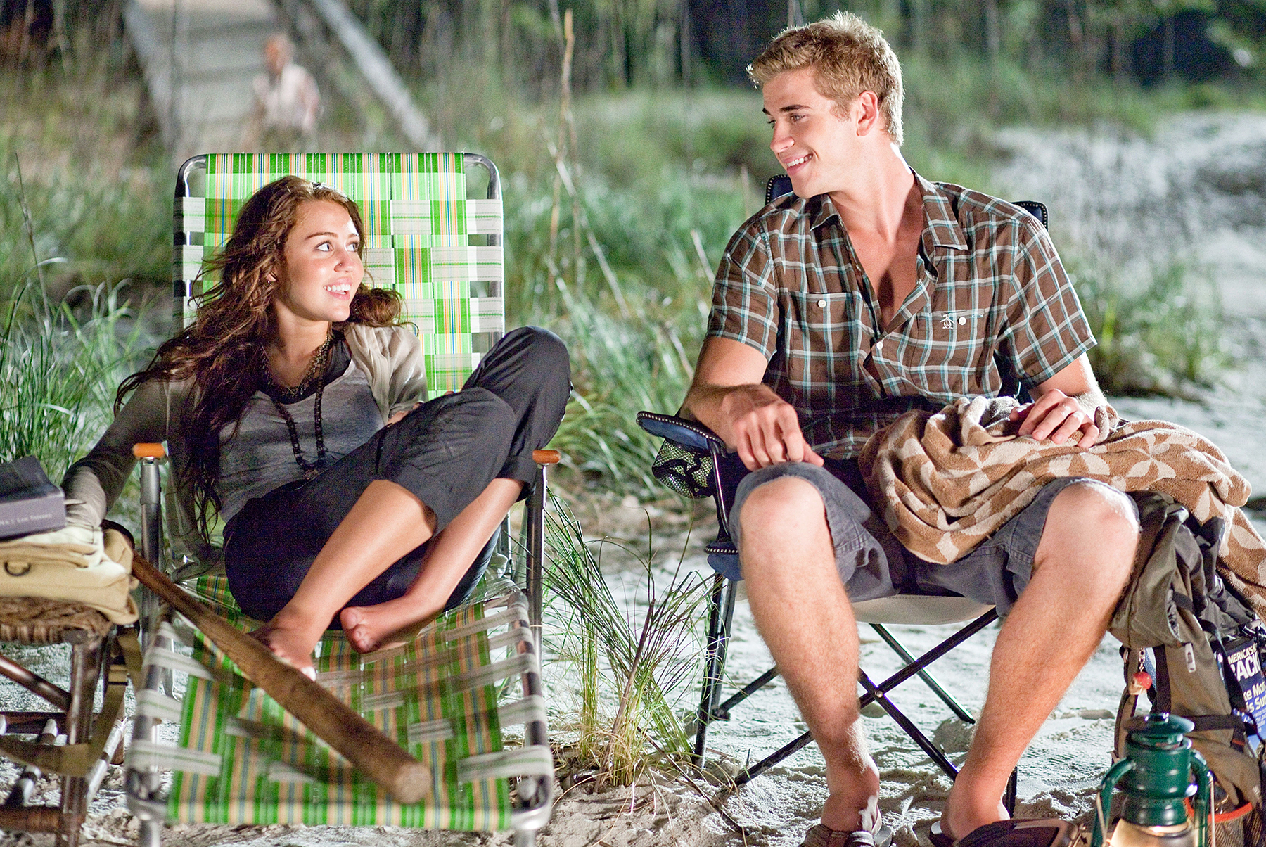 Miley Cyrus Liam Hemsworth The Last Song