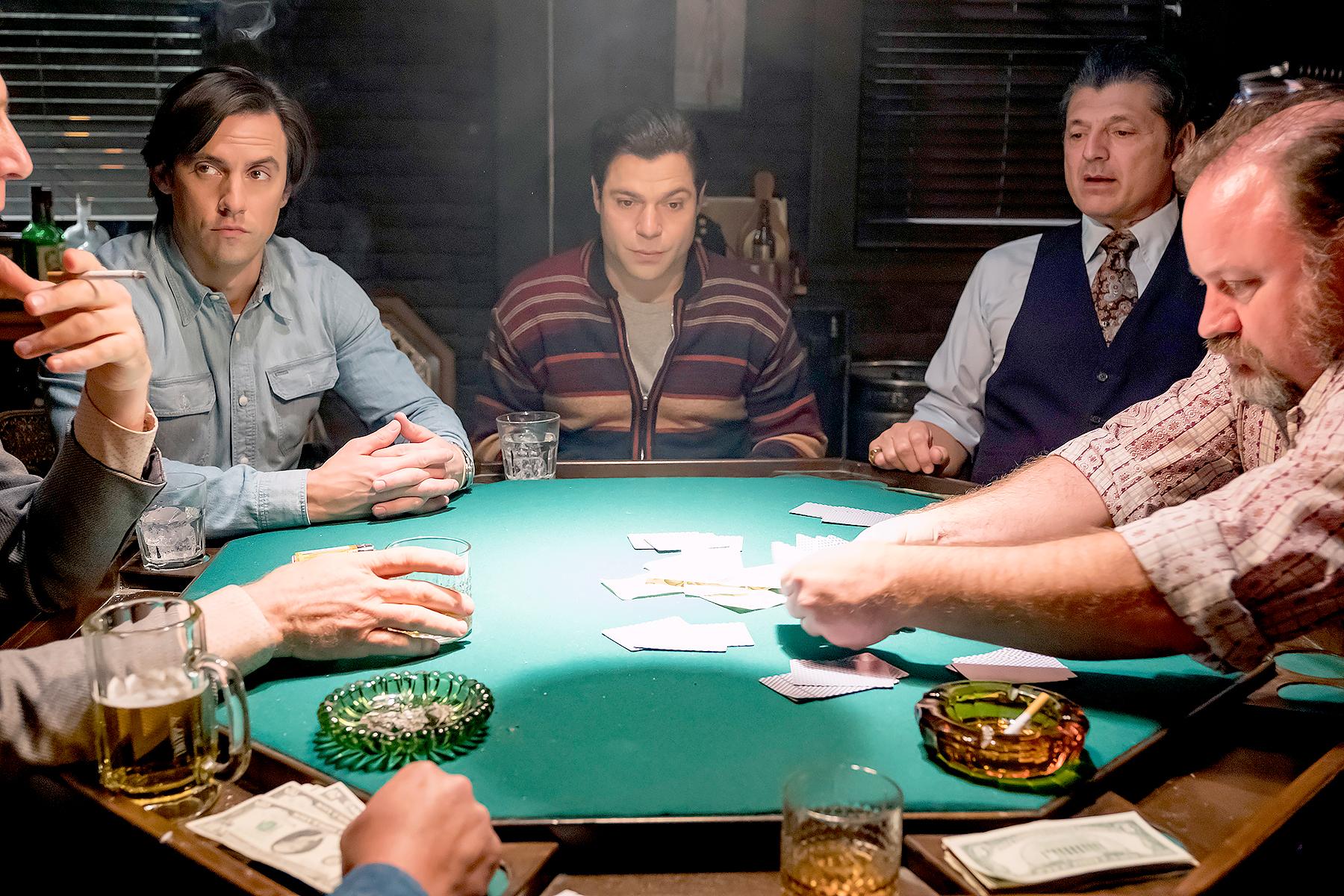Milo Ventimiglia as Jack on This Is Us.