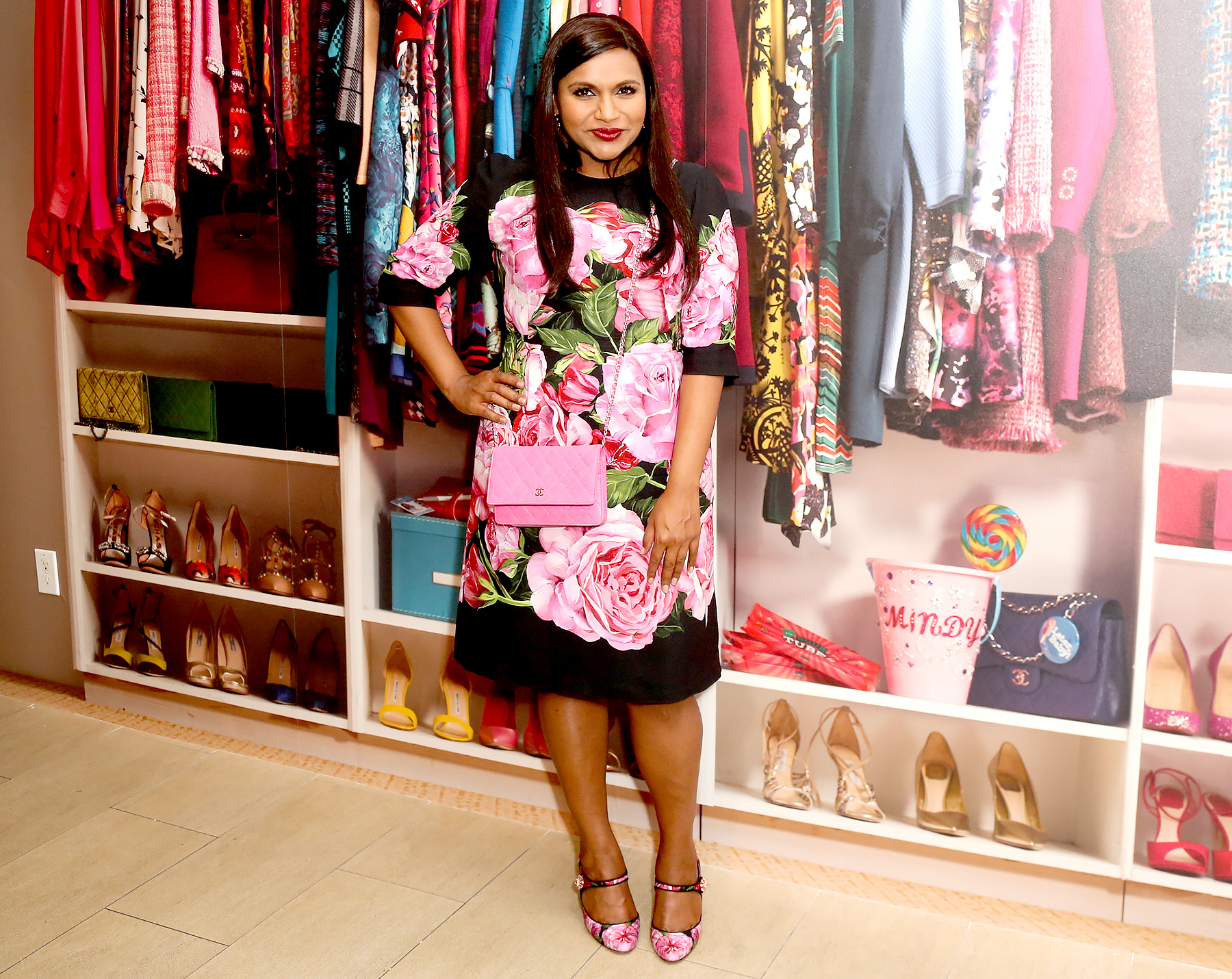 """Mindy Kaling attends the """"The Mindy Project"""": 6 Seasons Of Style at The Paley Center for Media on August 24, 2017 in Beverly Hills, California."""