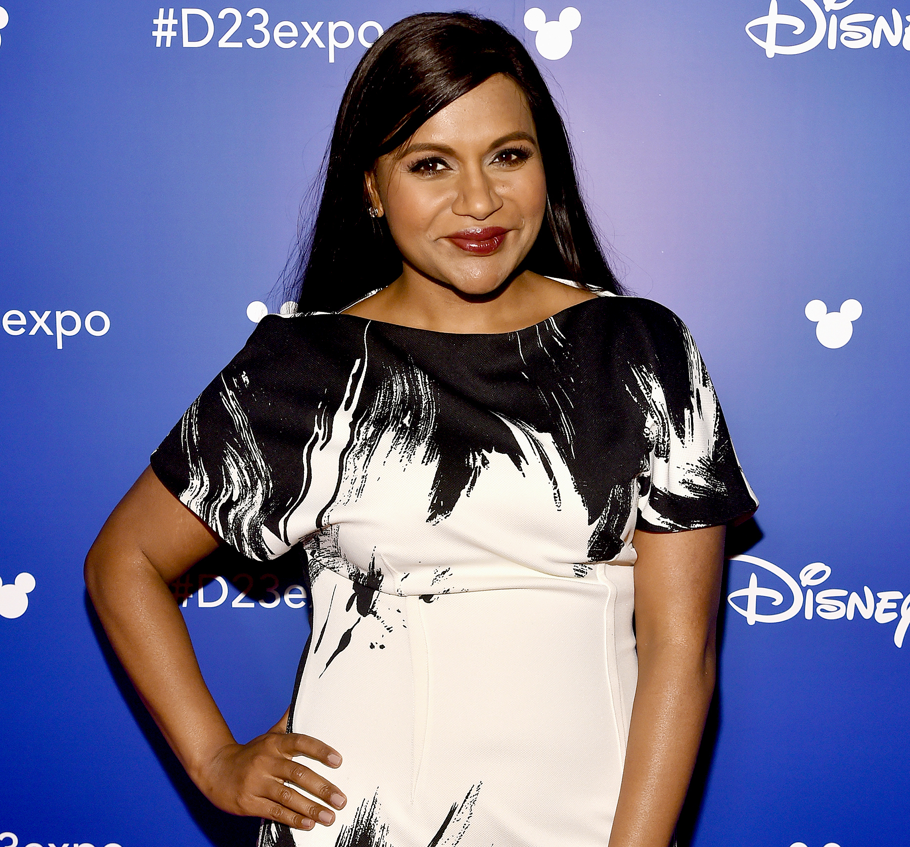 Mindy Kaling at Disney's D23 Expo in Anaheim, California, on July 15, 2017.