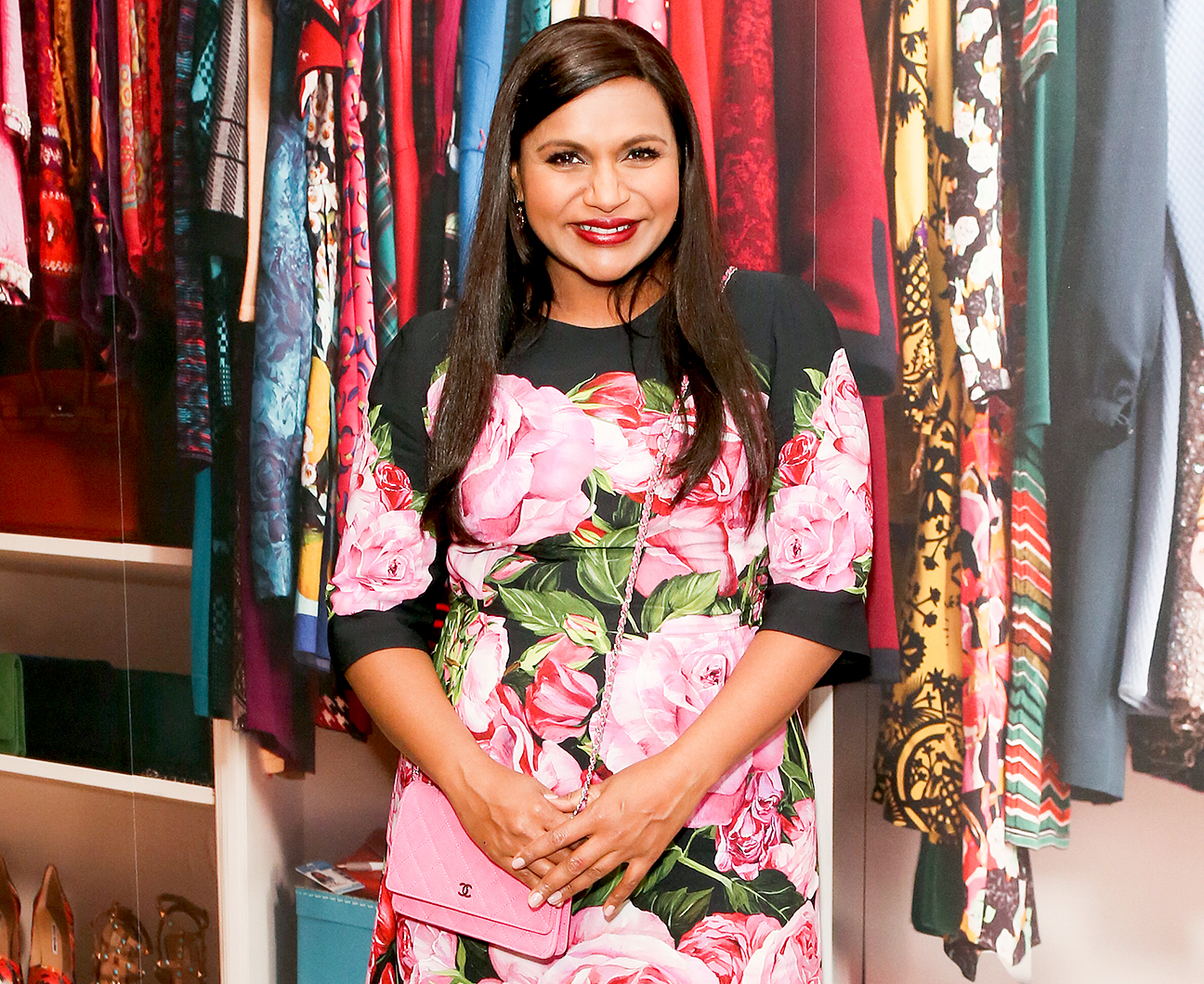 "Mindy Kaling attends the ""The Mindy Project"": 6 Seasons Of Style at The Paley Center for Media on August 24, 2017 in Beverly Hills, California."
