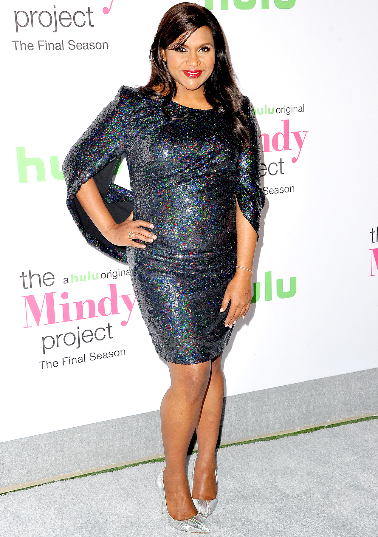 "Mindy Kaling attends Hulu's ""The Mindy Project"" final season premiere party at The London West Hollywood on September 12, 2017 in West Hollywood, California."