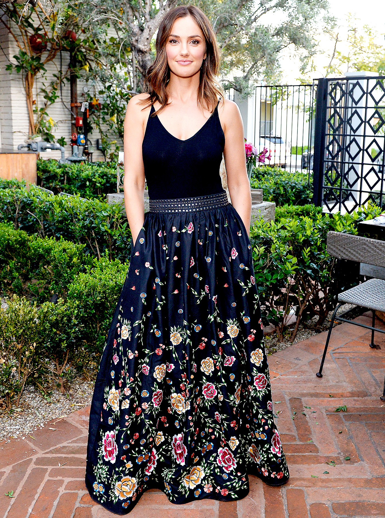 Minka Kelly attends Minka Kelly and Barrett Ward Co-Host the FashionABLE Equal Pay Day kick-off Dinner at Gracias Madre on March 29, 2017 in Los Angeles, California.