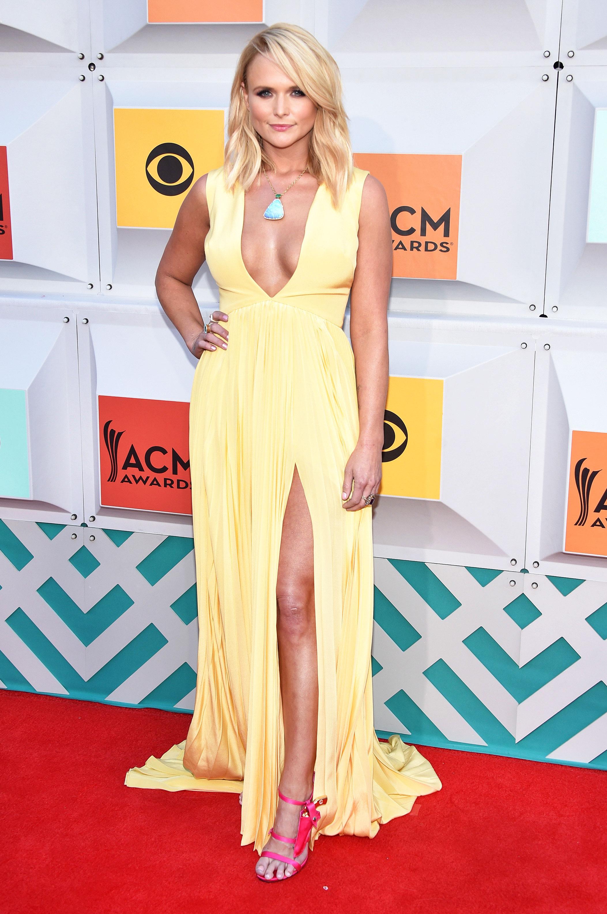 Miranda Lambert\'s Gun Holster Heels at the ACM Awards 2016: Details