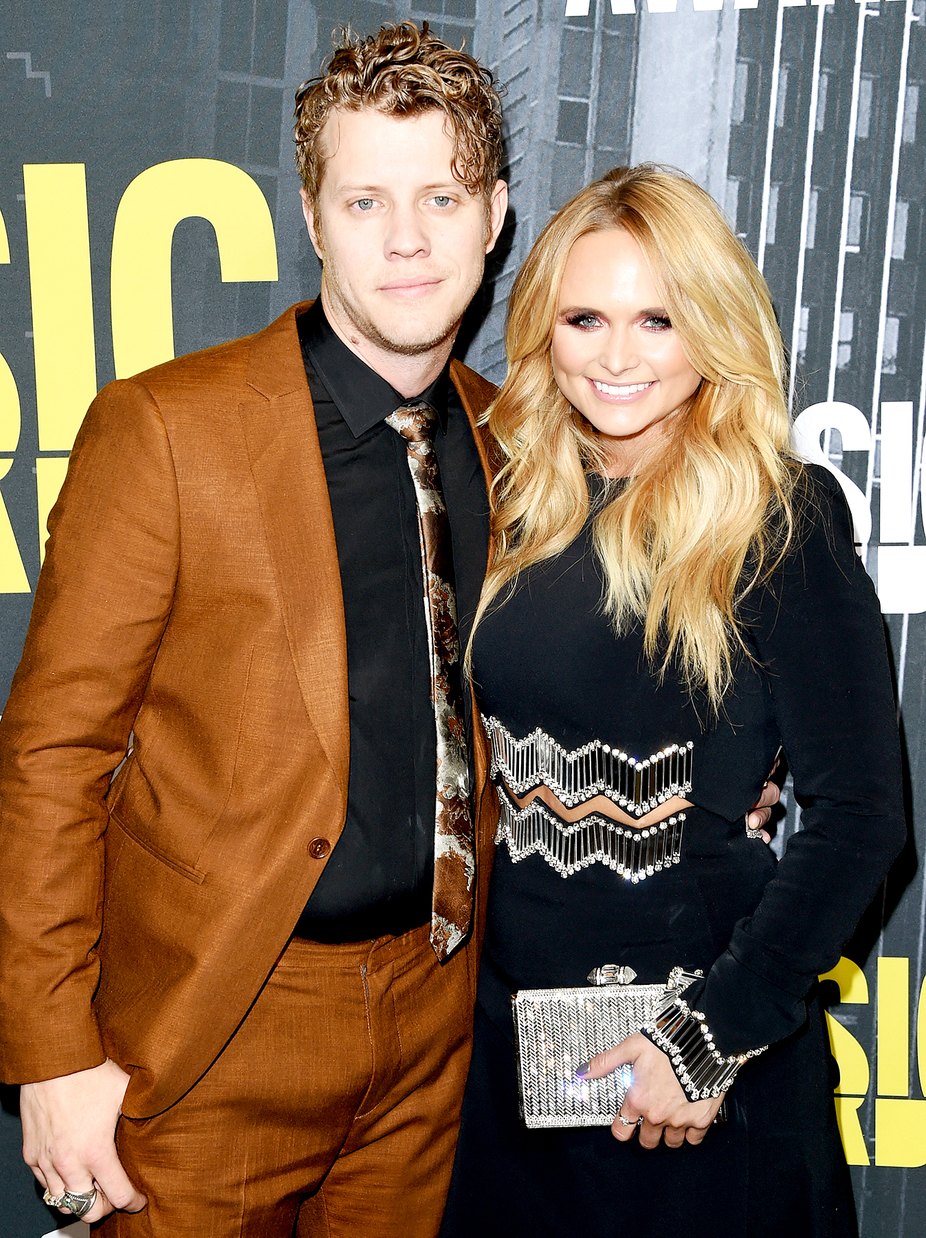 Anderson East and Miranda Lambert attend the 2017 CMT Music Awards at the Music City Center on June 7, 2017 in Nashville, Tennessee.