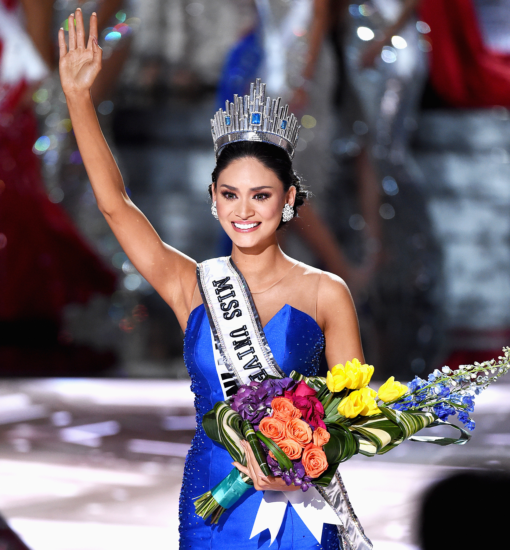 Miss Philippines Pia Alonzo Wurtzbach is named Miss Universe 2015.