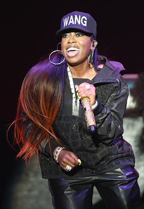 Missy Elliott performing