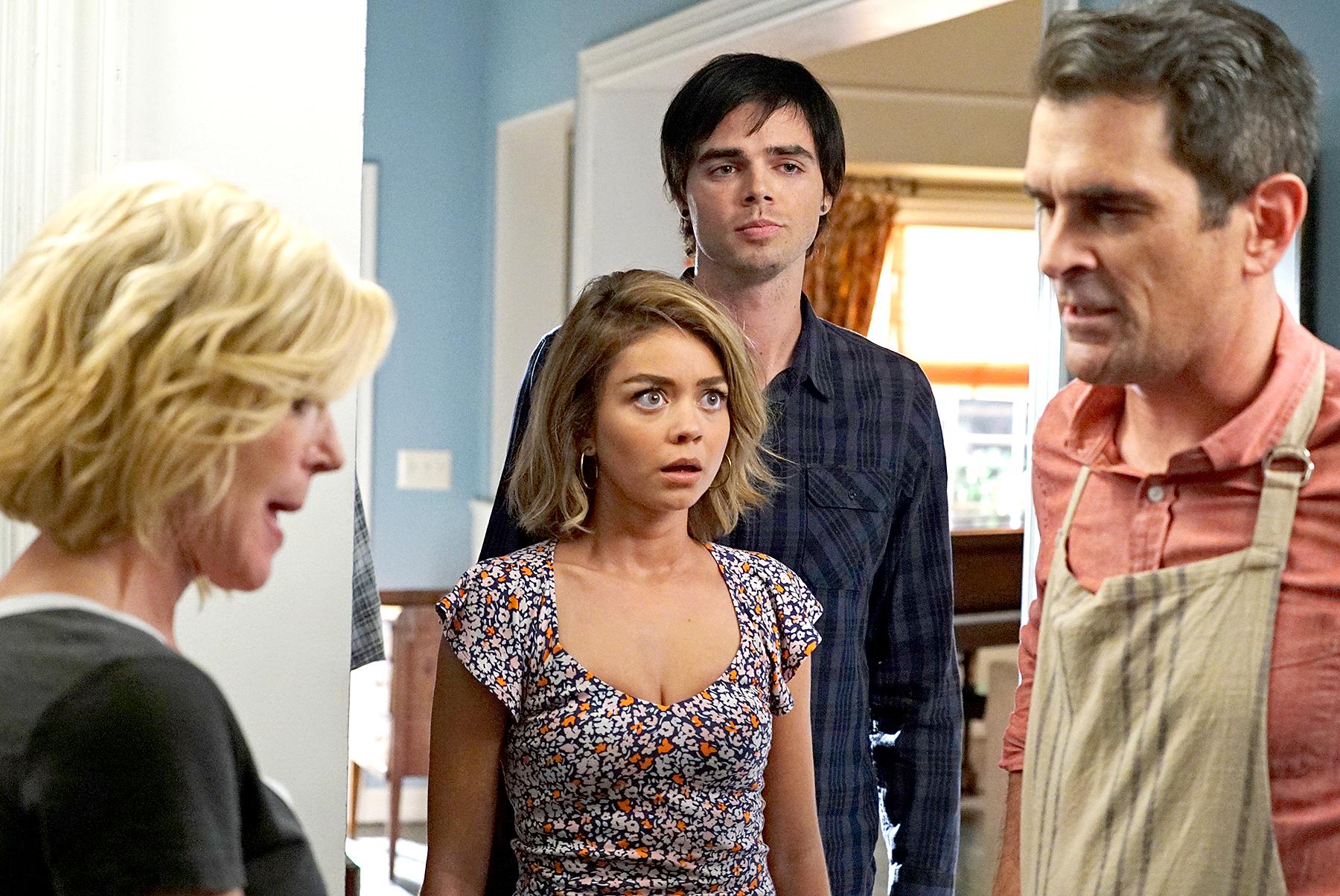 Reid Ewing in Modern Family.
