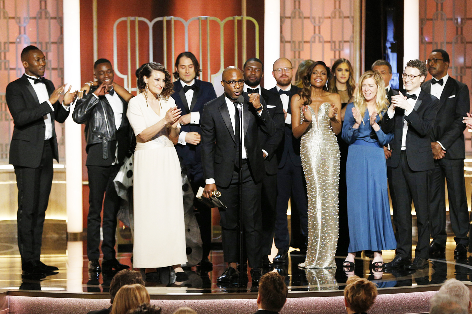 Barry Jenkins and the cast and crew of