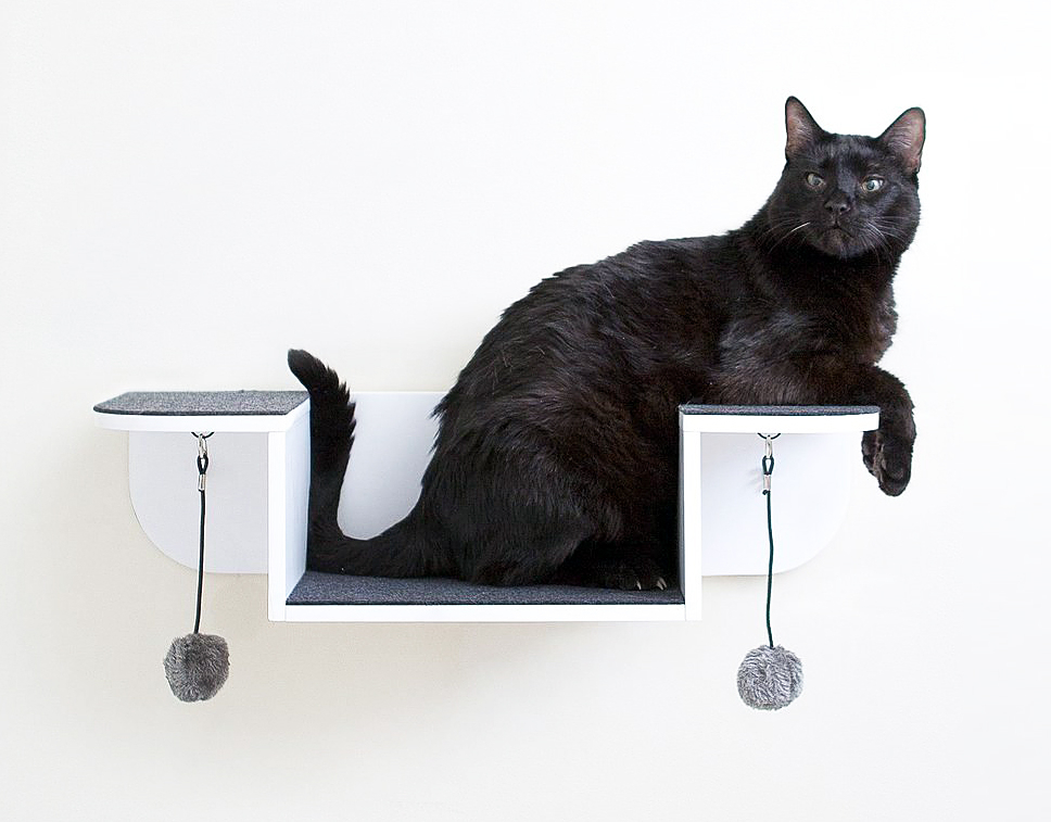 mounted wall lounge cat perch