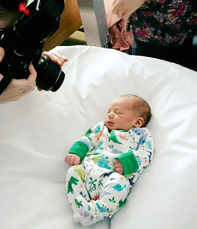 Bekki Pope Mummy Mumbles baby