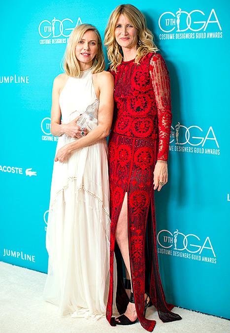 Naomi Watts and Laura Dern - CDGAs