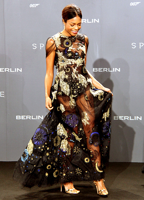 Naomie Harris - Spectre Germany Exhibition (space)