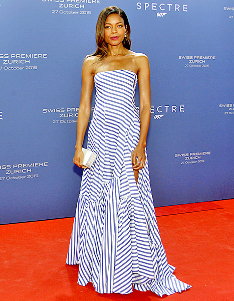 Every Jaw Dropping Gown Naomie Harris Wore In Two Weeks