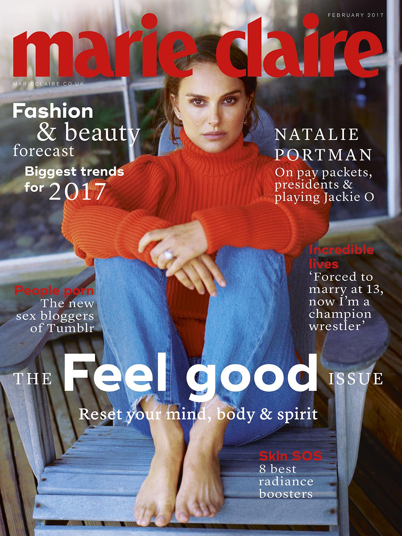 Natalie Portman Marie Claire UK