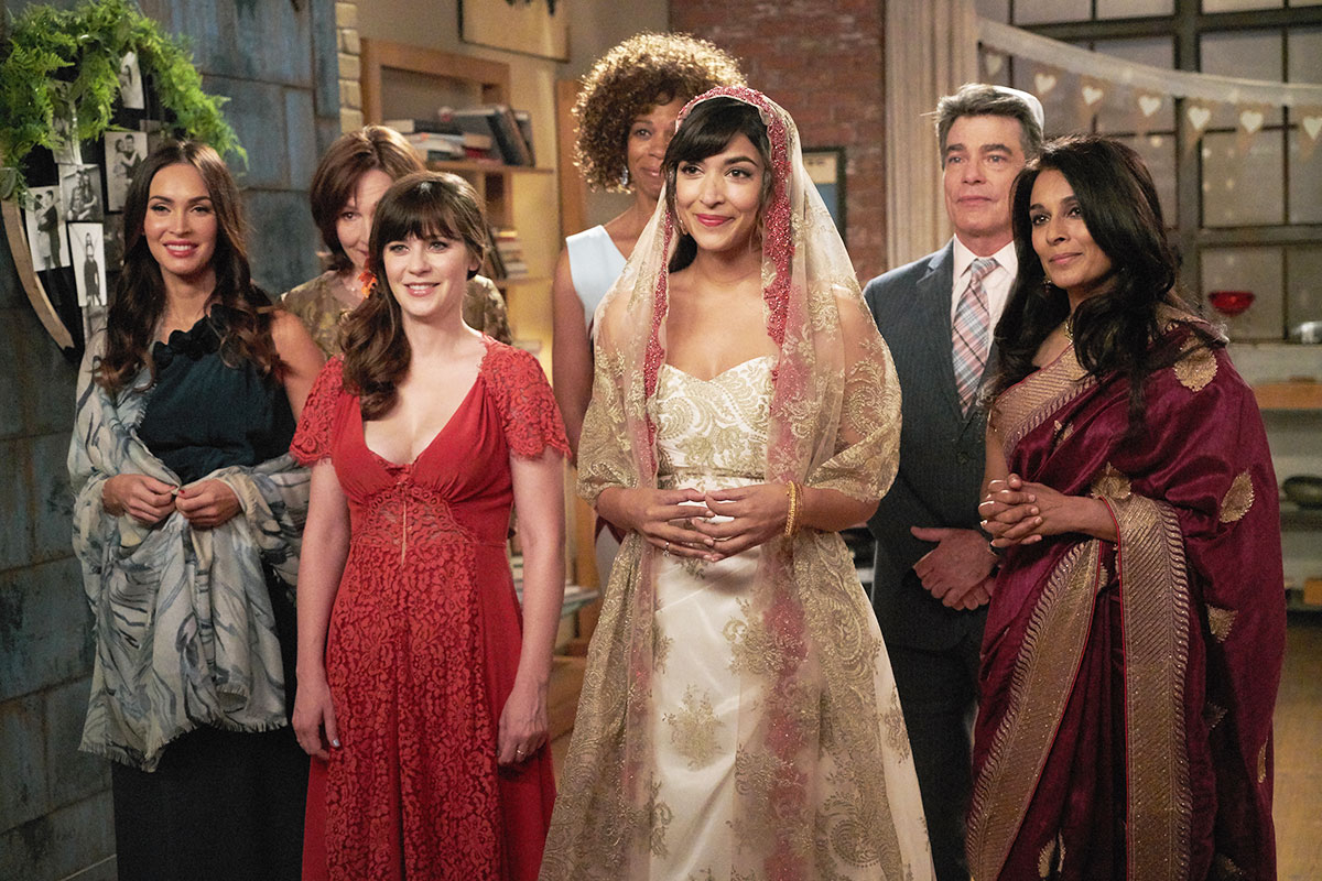 Cece and Schmidt Marry on \'New Girl\': Wedding Dress Details