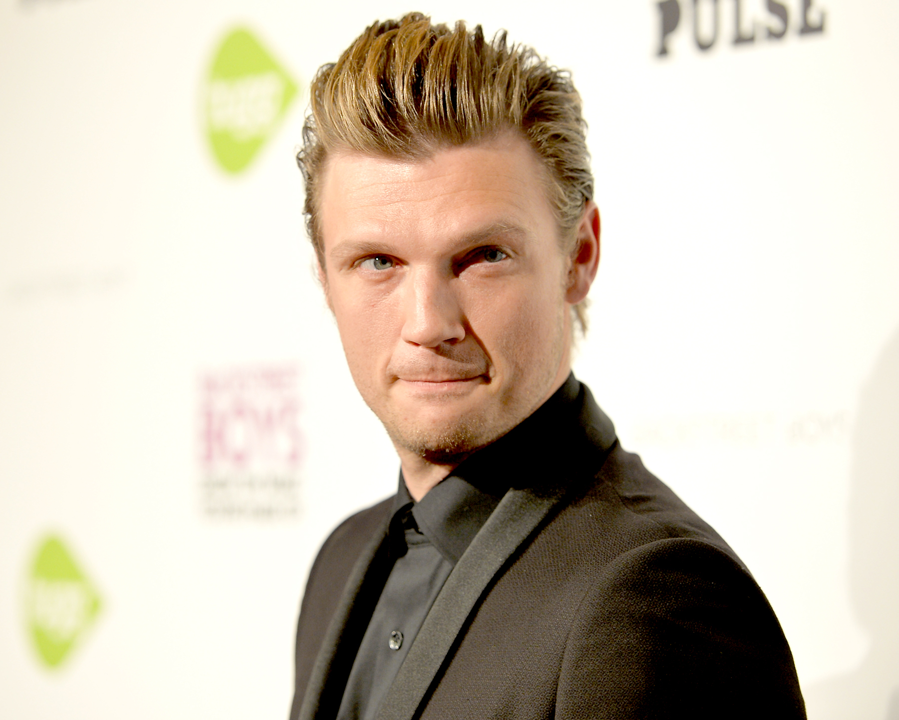 "Nick Carter attends the premiere of Gravitas Ventures' ""Backstreet Boys: Show 'Em What You're Made Of"" at on January 29, 2015 in Hollywood, California."