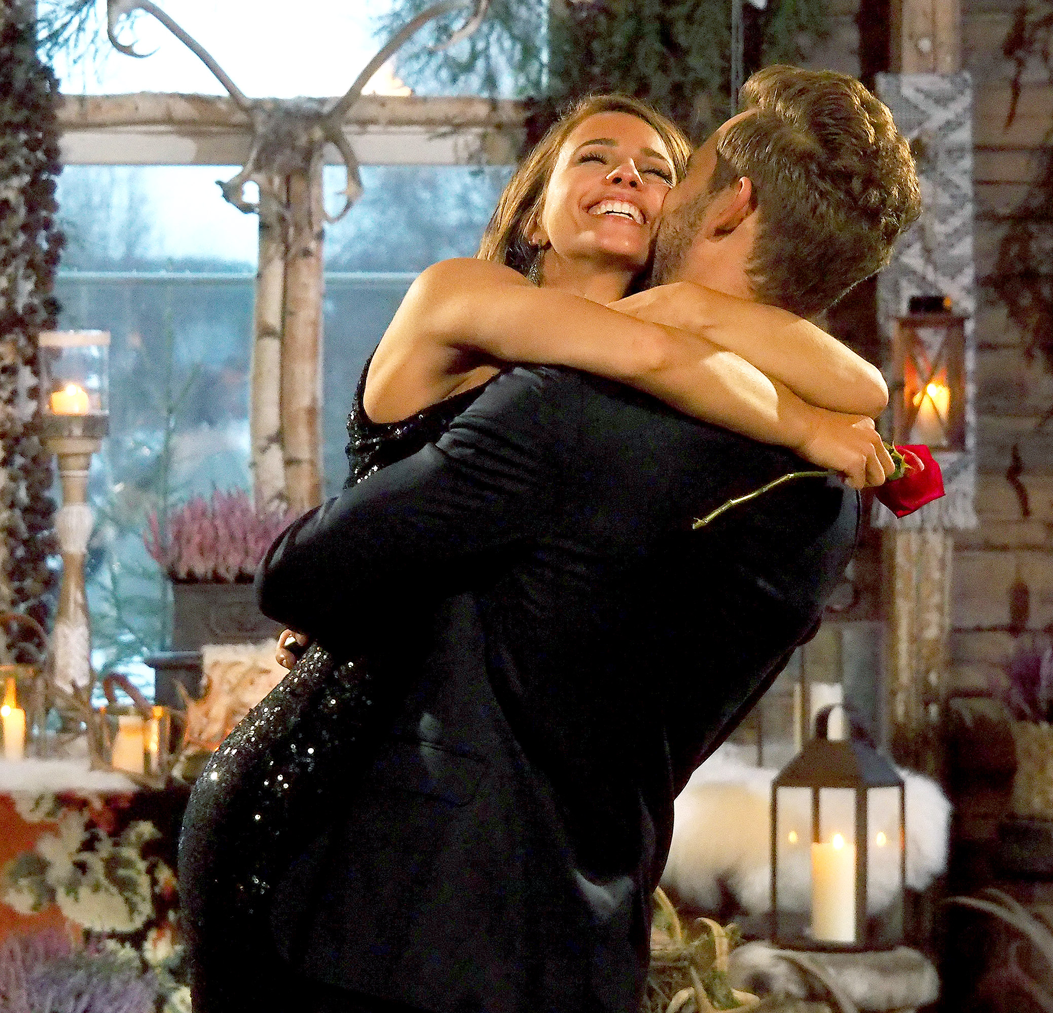 Vanessa and Nick on the finale of The Bachelor.