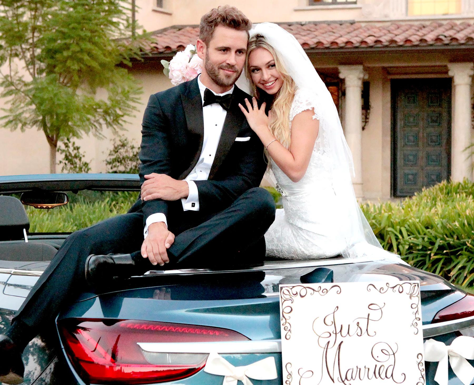 Corinne and Nick Viall on 'The Bachelor'