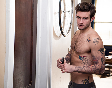 Nico Tortorella shirtless