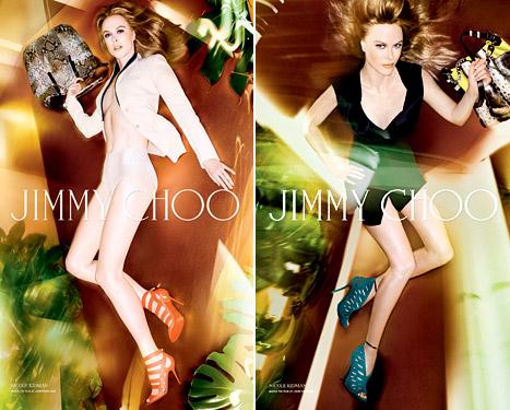 Nicole Kidman - Jimmy Choo Ad