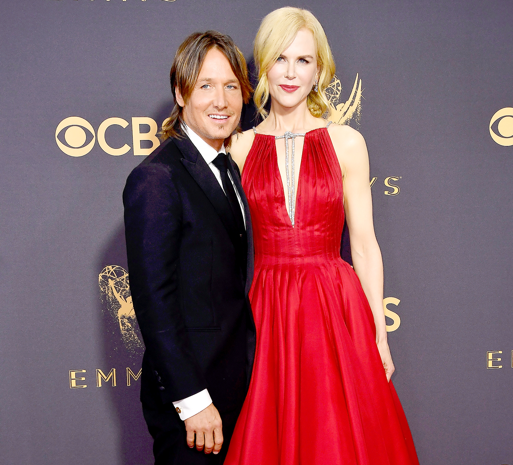 Keith Urban and Nicole Kidman attend the 69th Annual Primetime Emmy Awards at Microsoft Theater on September 17, 2017 in Los Angeles, California.