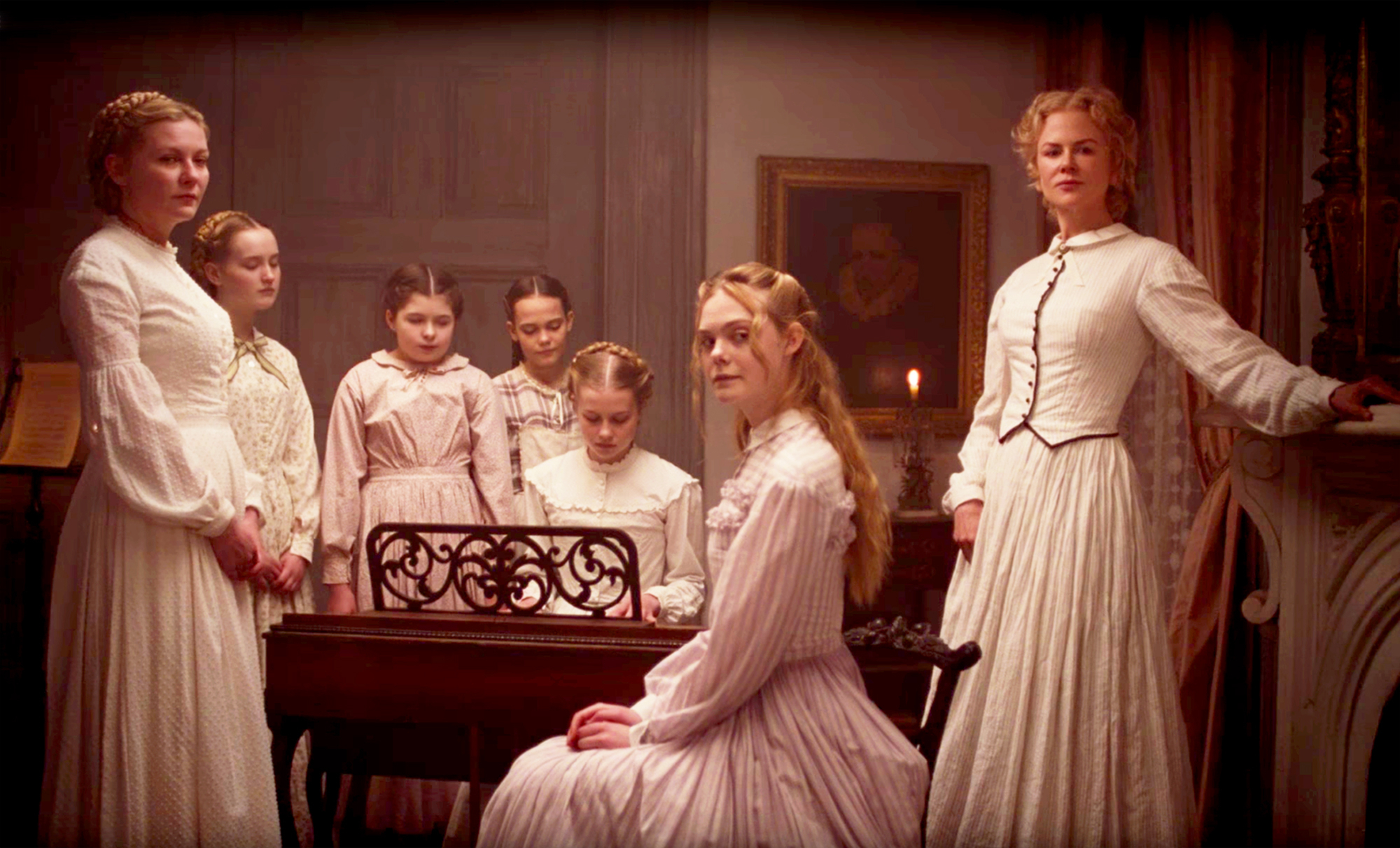 Nicole Kidman, Kirsten Dunst and Elle Fanning