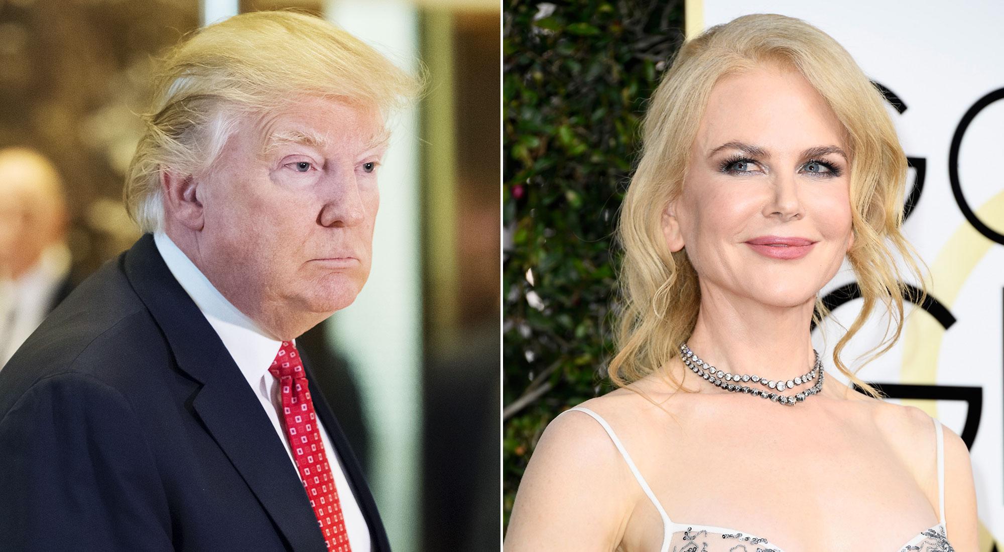 Donald Trump Nicole Kidman