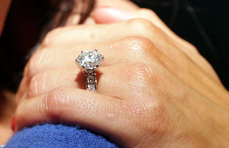 John Cena Proposes to Nikki Bella With Huge Diamond Ring s