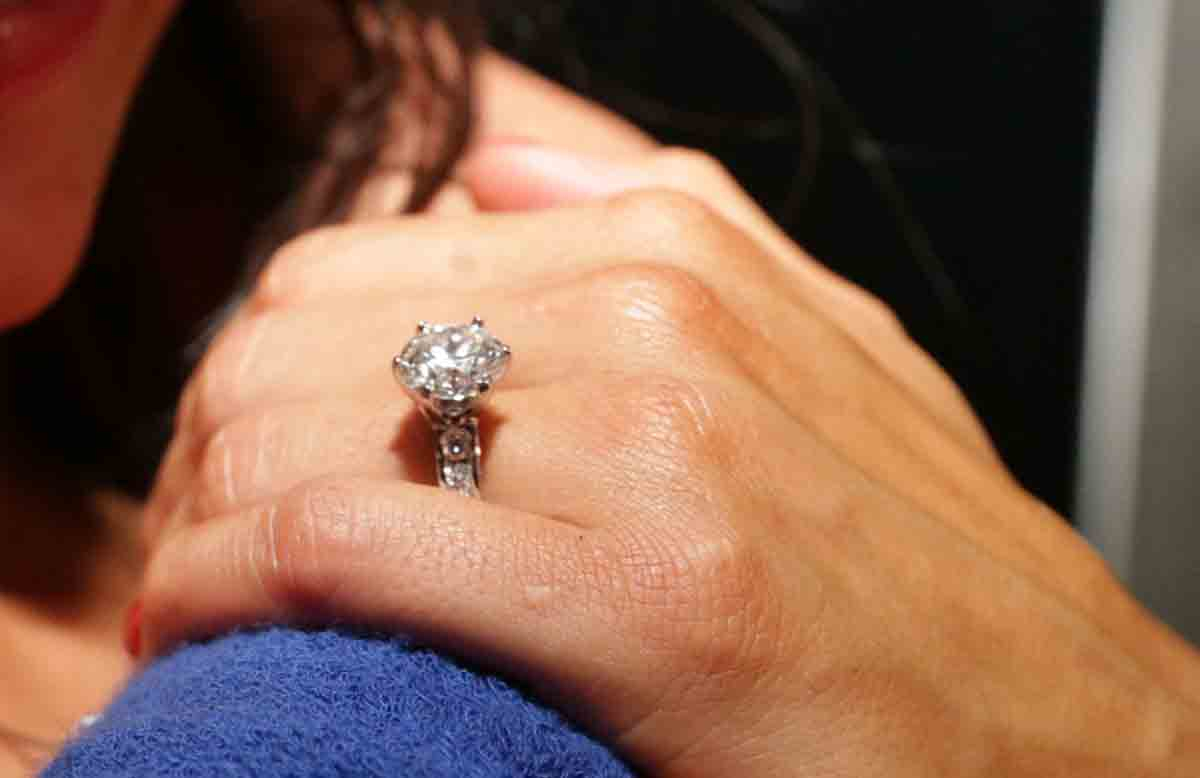 Nikki Bella's engagement ring after accepting proposal from John Cena