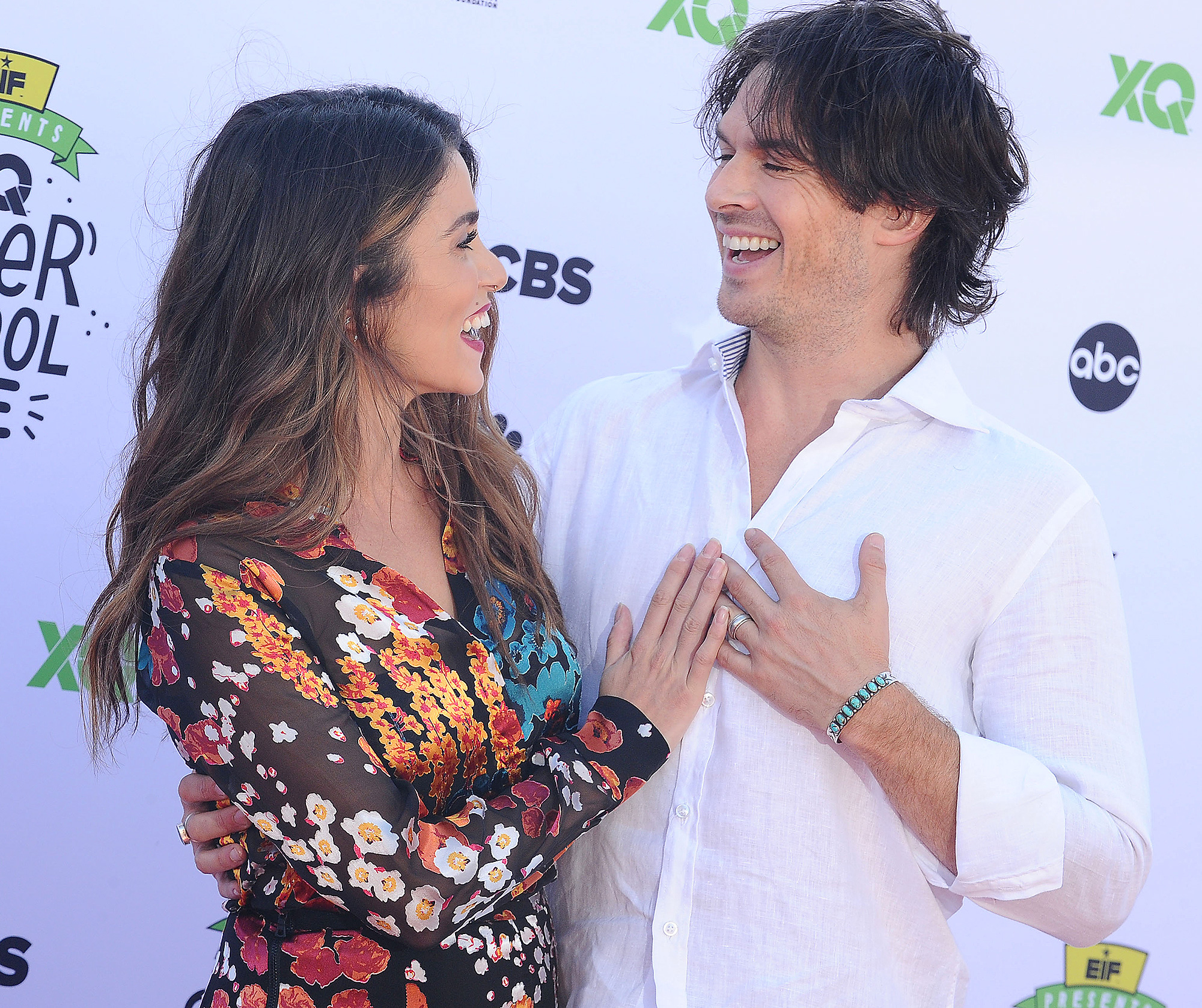 Nikki Reed, Ian Somerhalder, XQ Super School Live, Red Carpet, Post Baby
