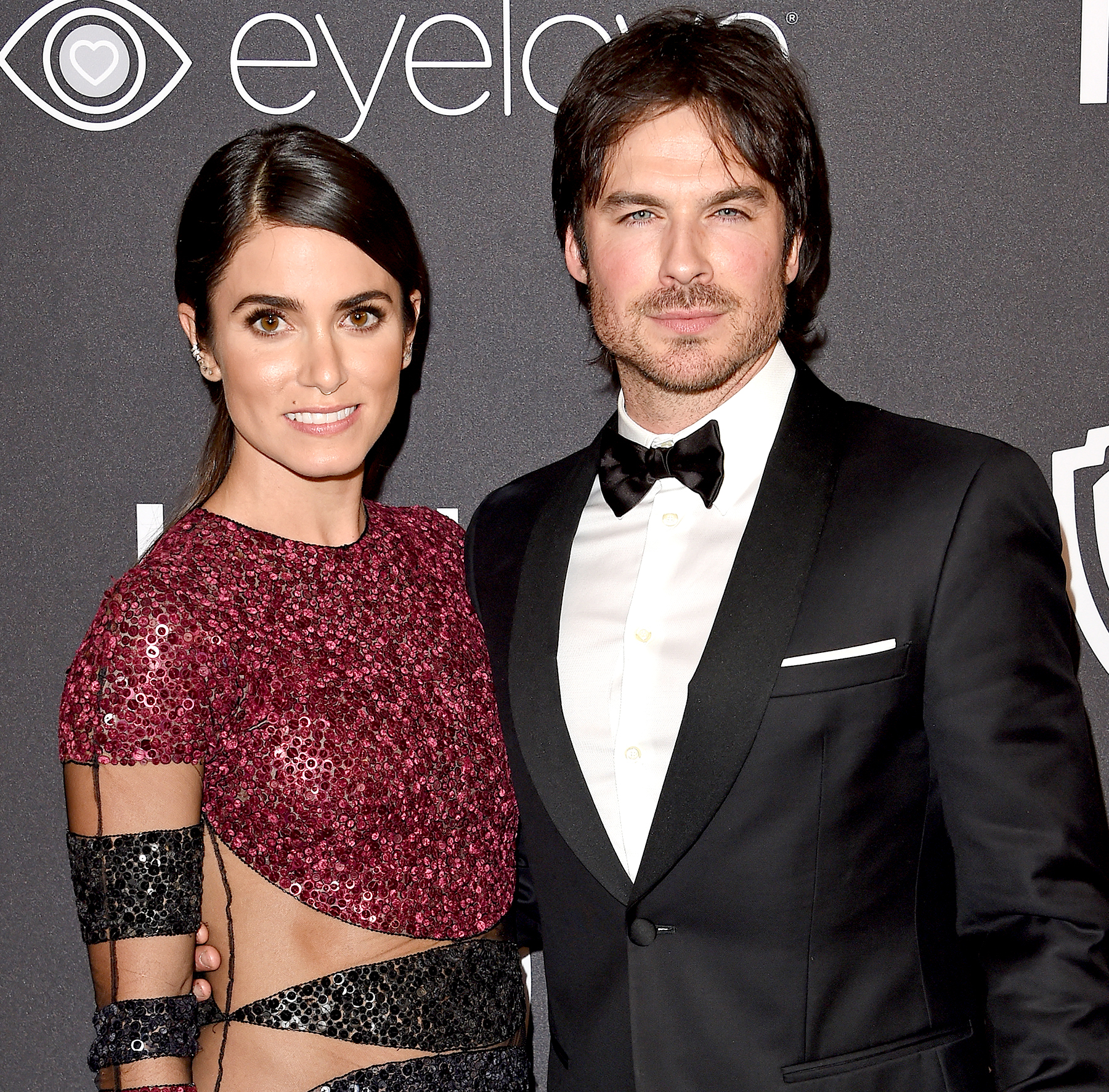 Nikki Reed and Ian Somerhalder arrive at the 18th Annual Post-Golden Globes Party hosted by Warner Bros. Pictures and 'InStyle' at the Beverly Hilton hotel in Beverly Hills on Jan. 8.