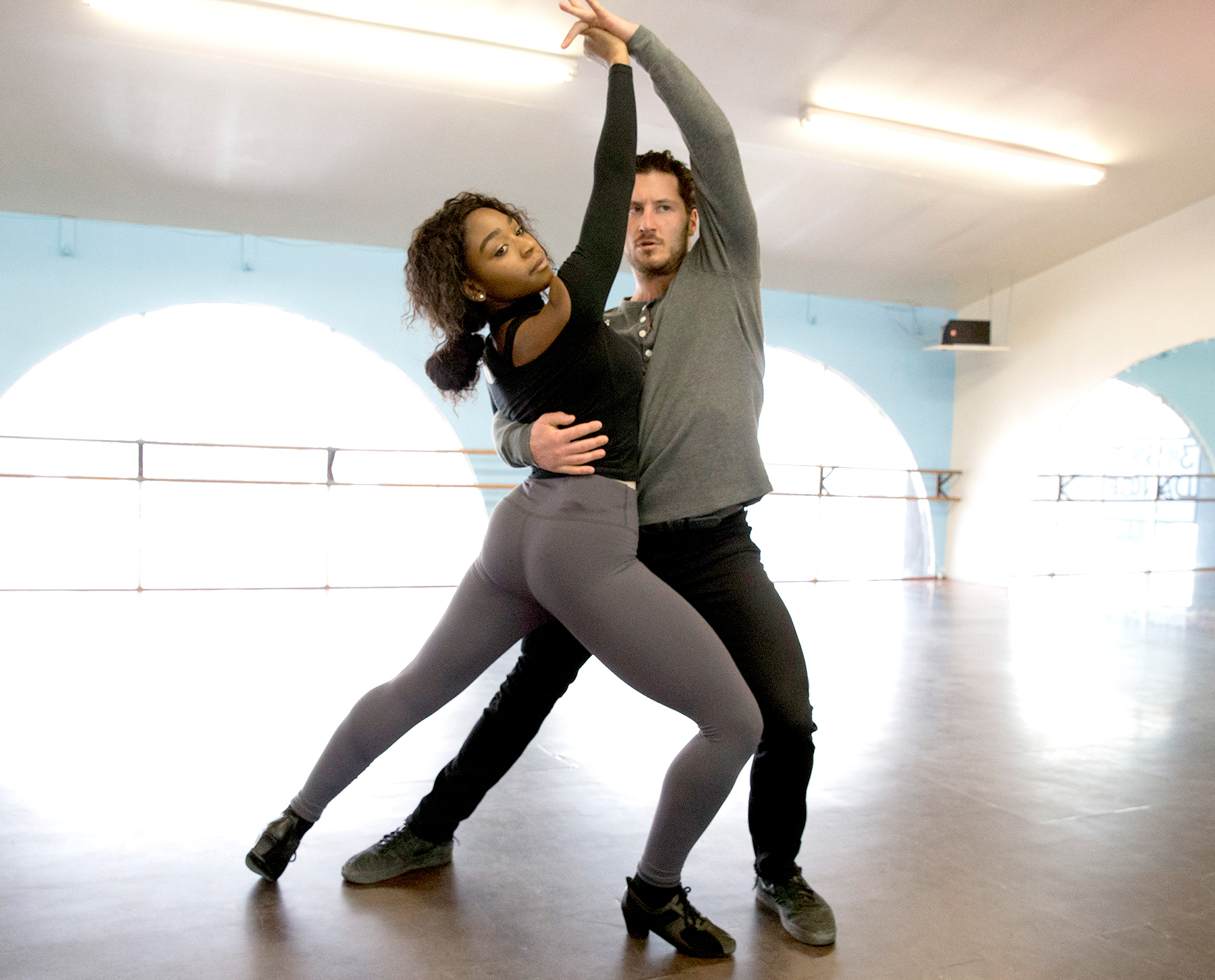 Normani Kordei and Valentin Chmerkovskiy ABC/Paul Hebert