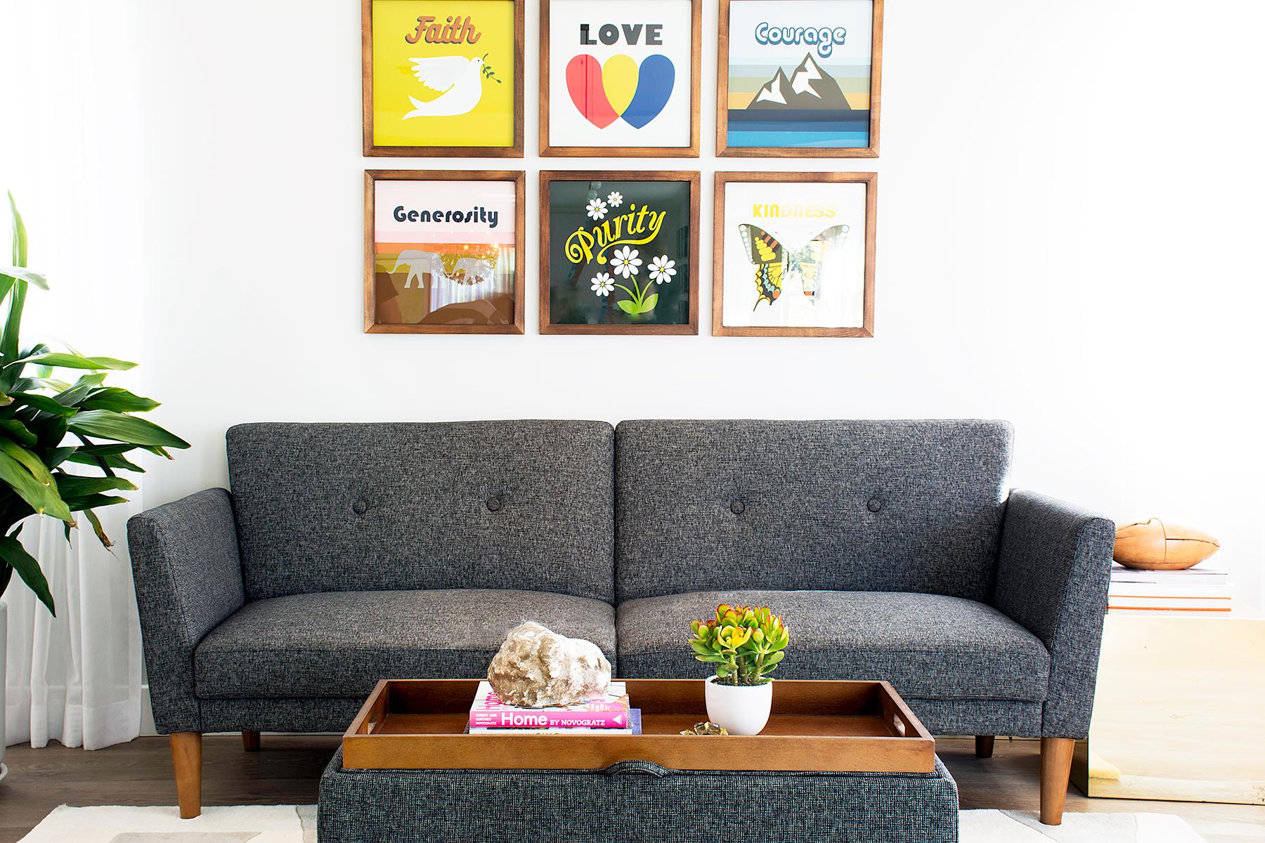 Novogratz family living room