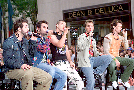 nsync today show 2001