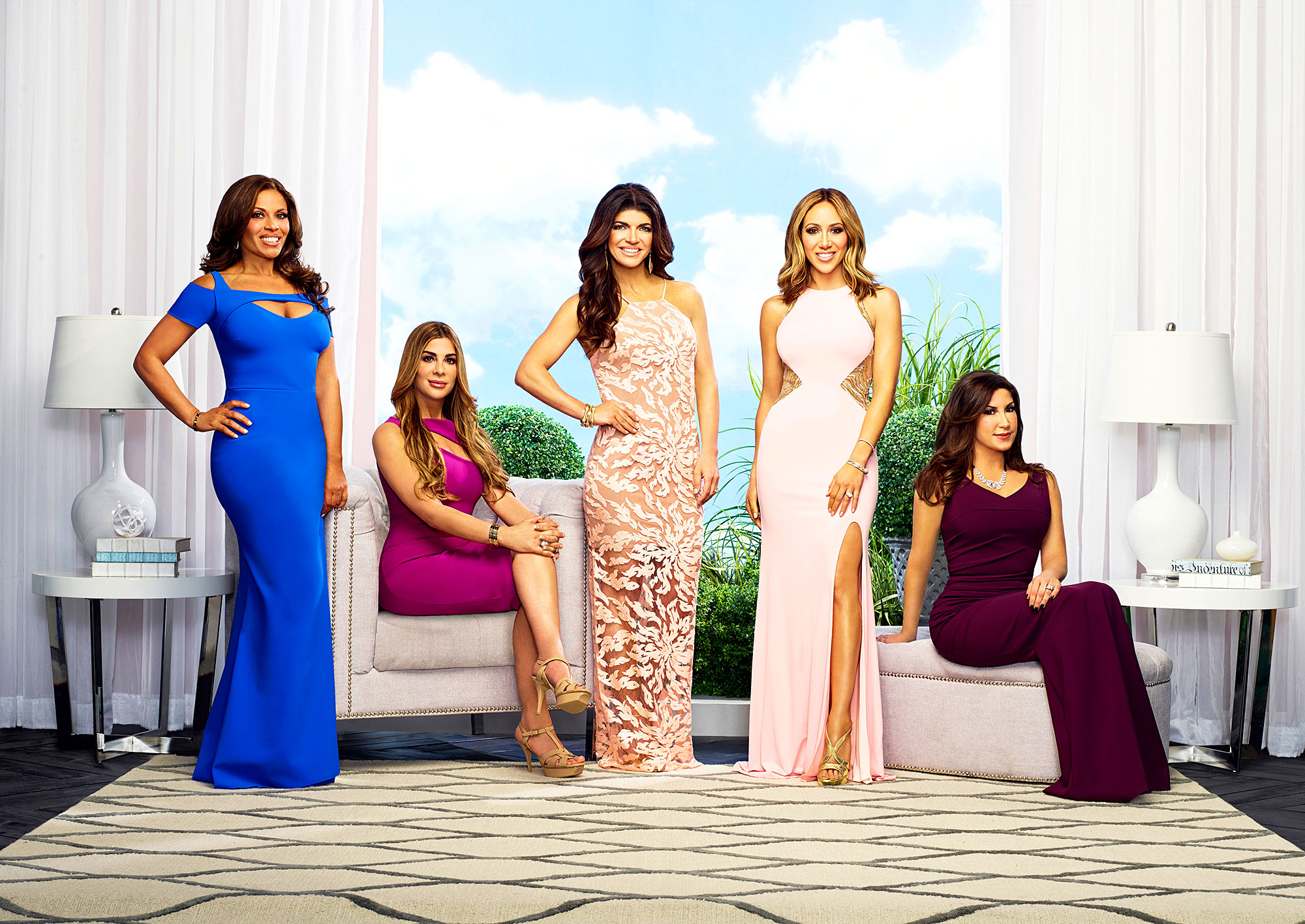 Dolores Catania, Siggy Flicker, Teresa Giudice, Melissa Gorga, Jacqueline Laurita The Real Housewives of New Jersey
