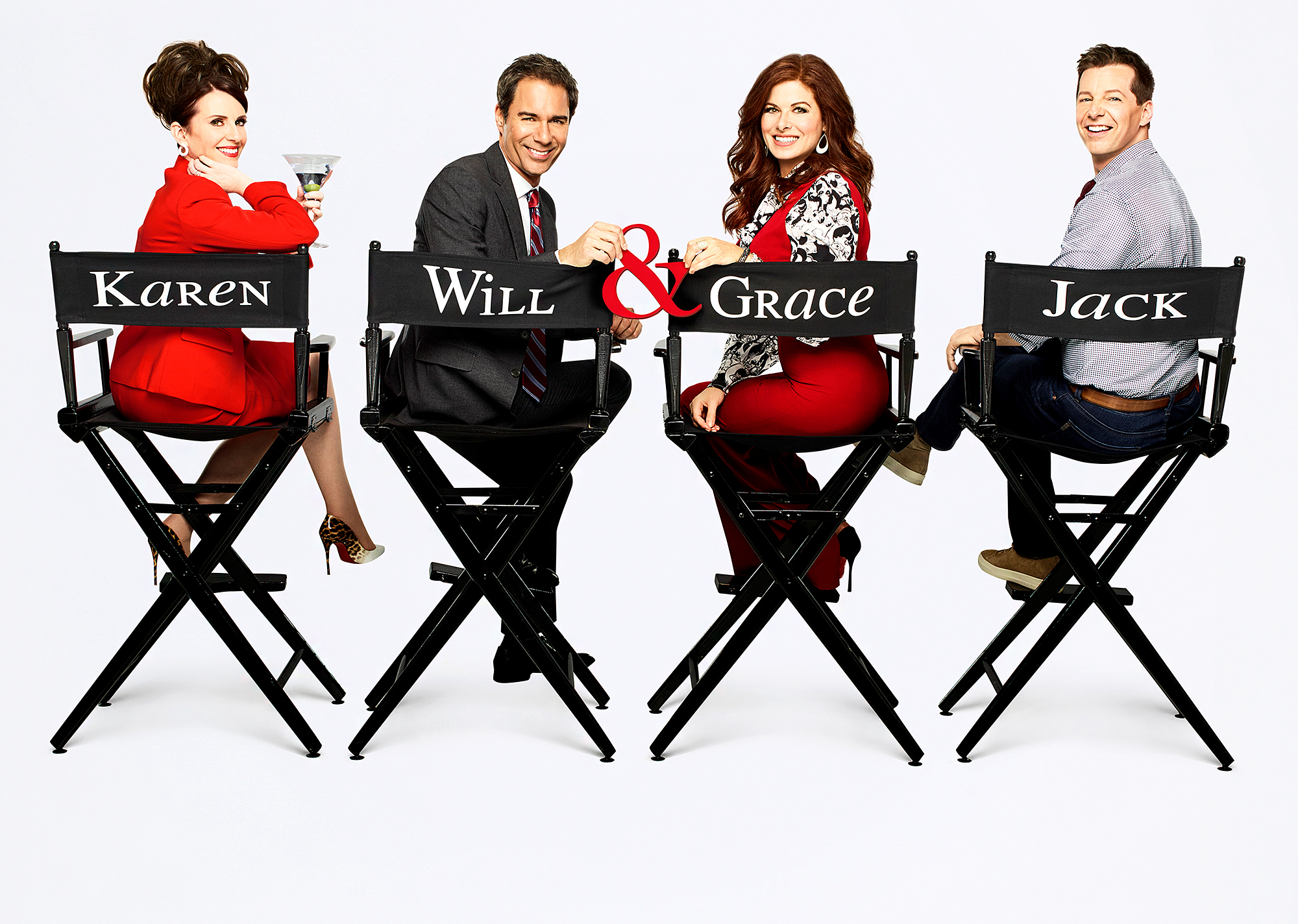 Will & Grace Megan Mullally, Eric McCormack, Debra Messing and Sean Hayes