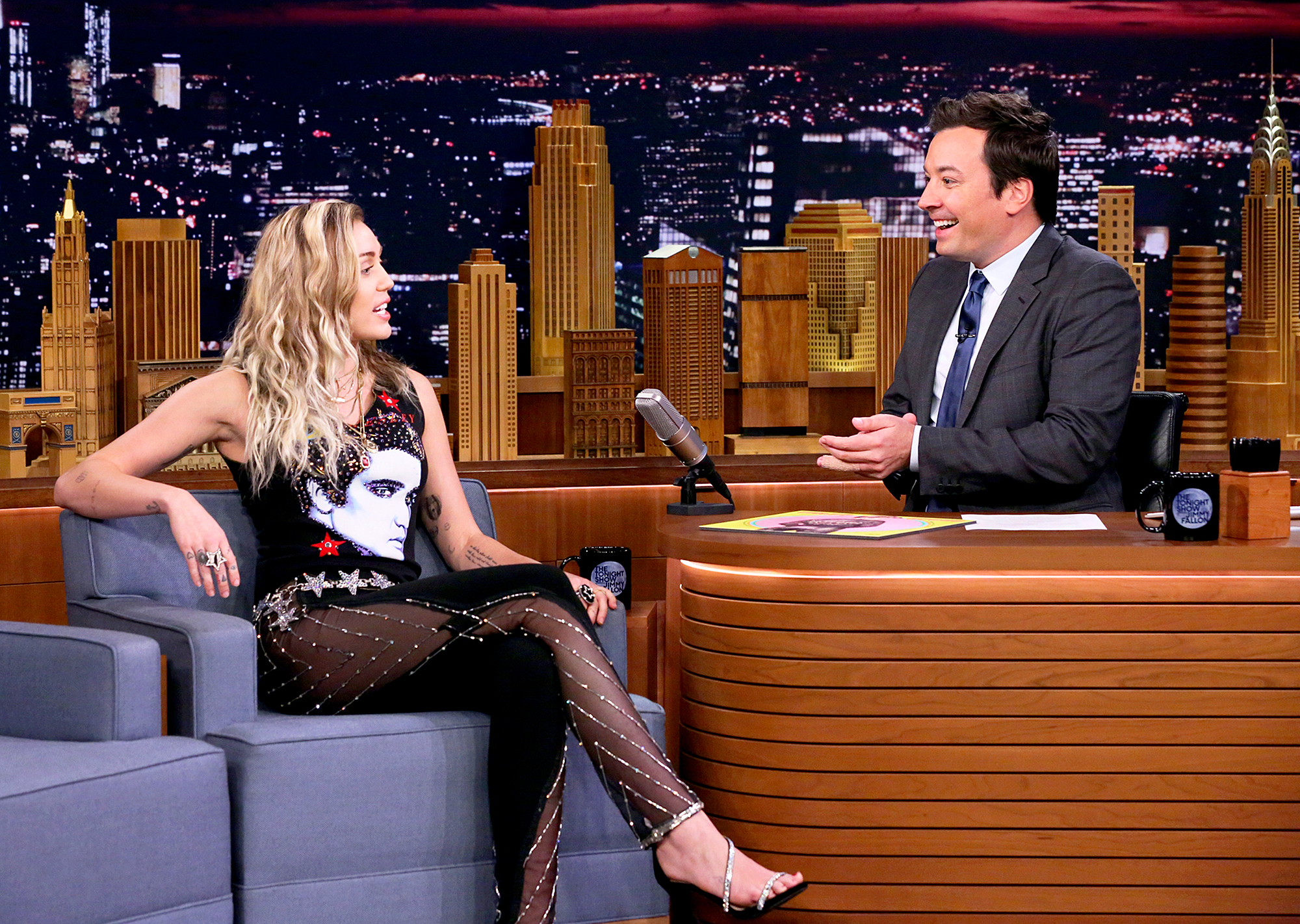 Miley Cyrus Tonight Show starring Jimmy Fallon