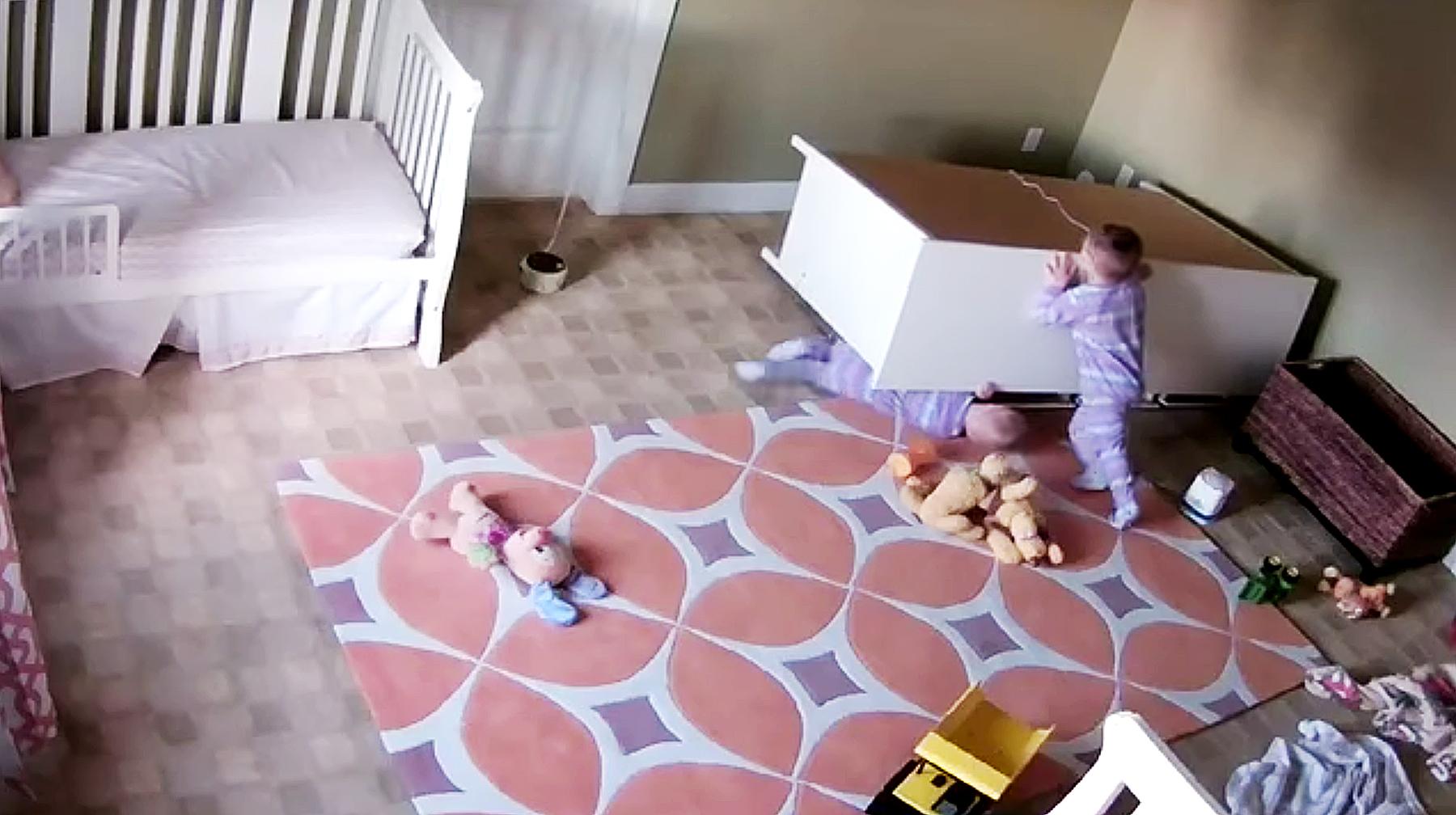 Shoff family fallen dresser