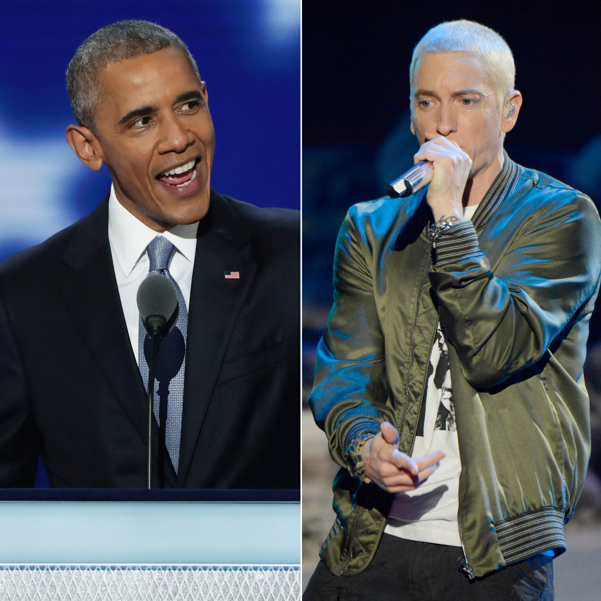 Barack Obama, Eminem