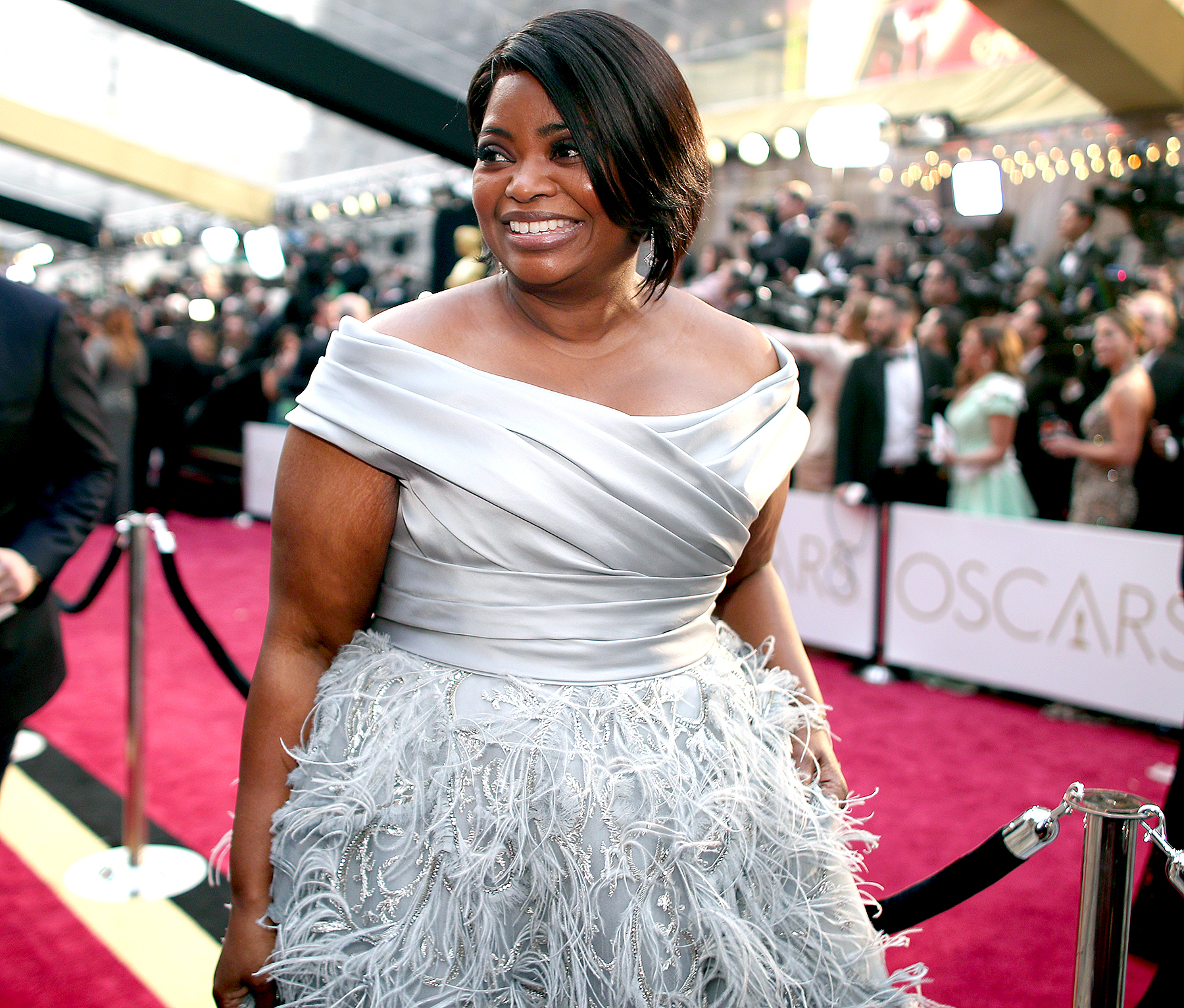 Octavia Spencer attends the 89th Annual Academy Awards at Hollywood & Highland Center on February 26, 2017 in Hollywood, California.