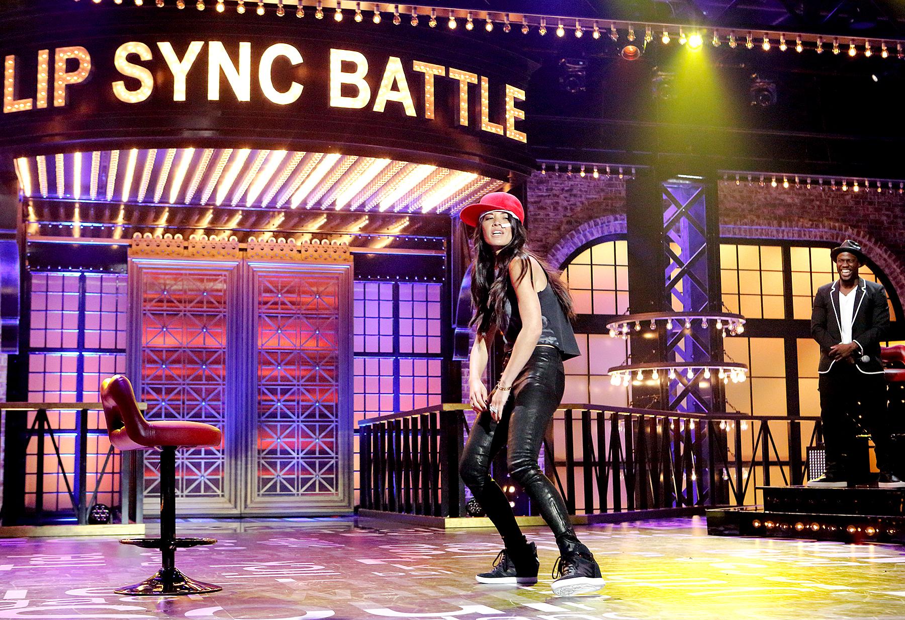 Olivia Munn on Lip Sync Battle